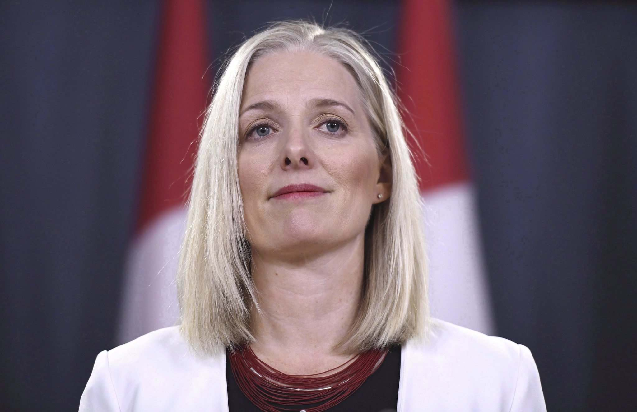 Justin Tang / The Canadian Press Files</p><p>Environment Minister Catherine McKenna says Saskatchewan's move is 'disappointing.'</p>