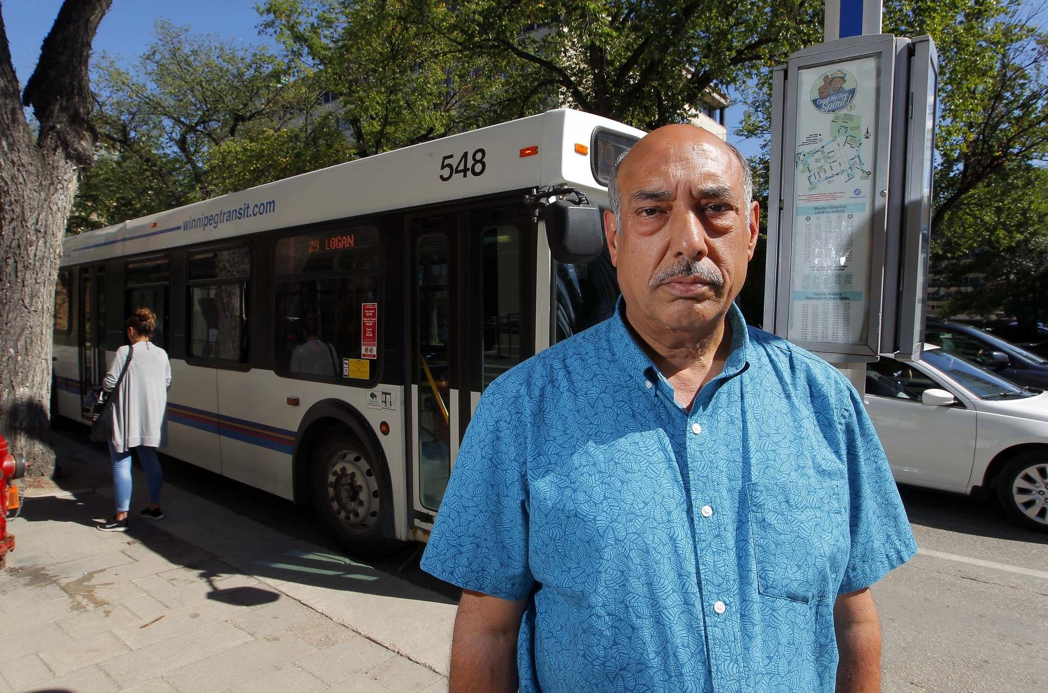 BORIS MINKEVICH / WINNIPEG FREE PRESS FILES</p><p>Aleem Chaudhary, president of Amalgamated Transit Union, Local 1505 says city hall is missing out on an opportunity to access loans and grants to electrify its transit fleet.</p>
