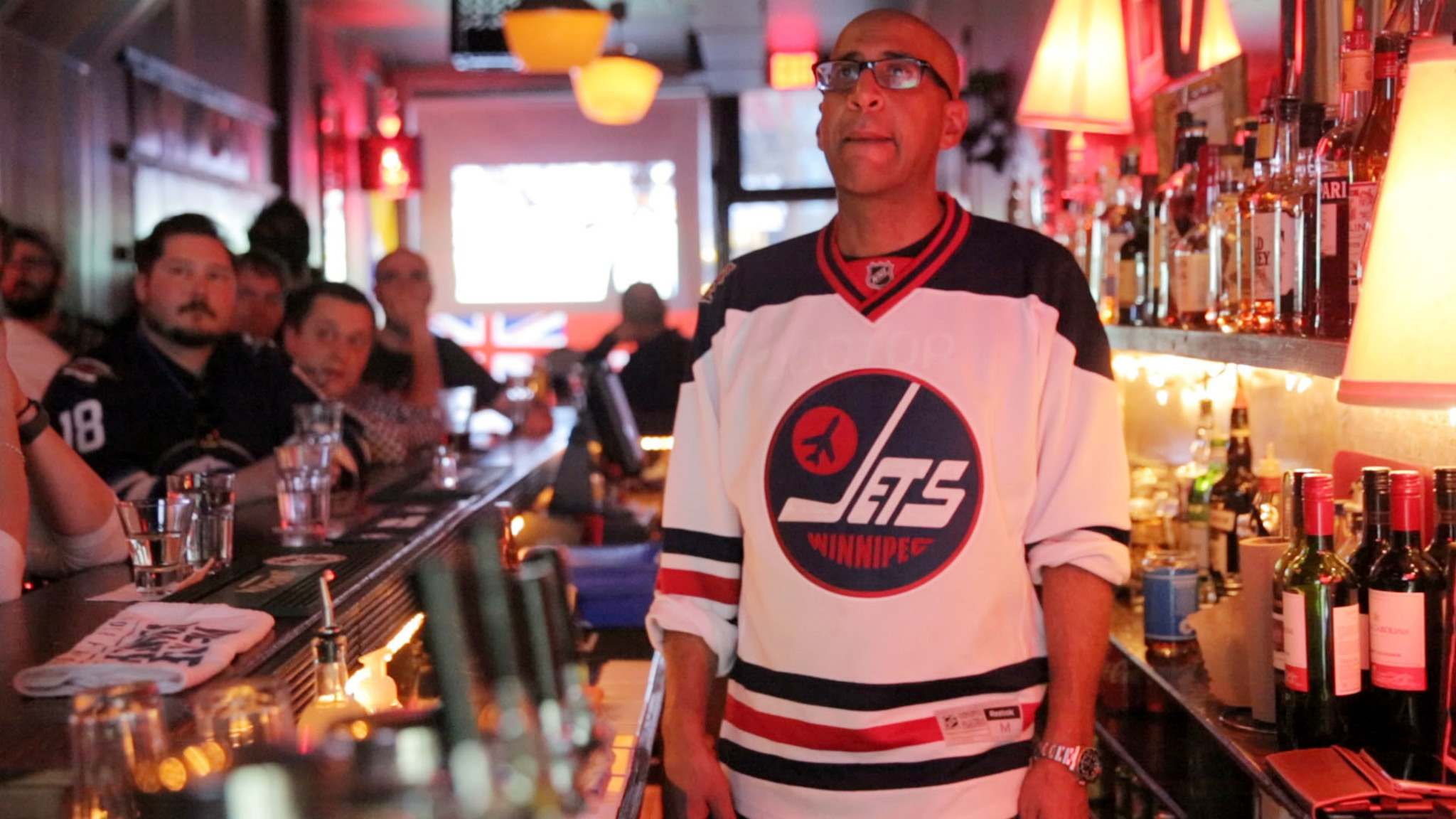 MIKE DEAL / WINNIPEG FREE PRESS</p><p>Danny Greaves, owner of the Motel Bar in Toronto, has created 'something special' by providing a space for Jets fans to gather.</p>