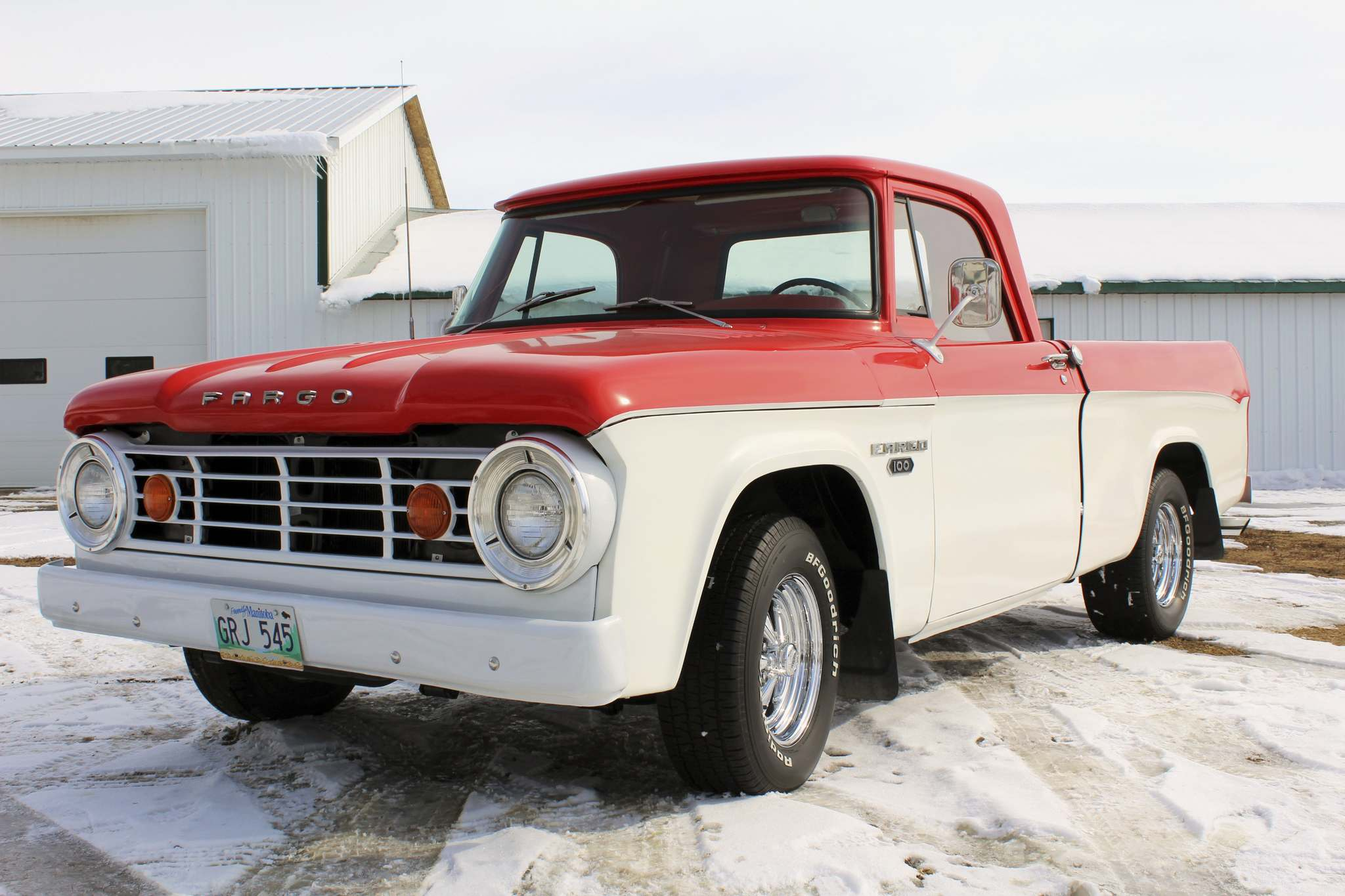 Photos by Larry D'Argis / Winnipeg Free PressThe Fargo short-box pickup is a rare find, but Rick Giesbrecht of Stephenfield has fully restored one that he bought in 2011.