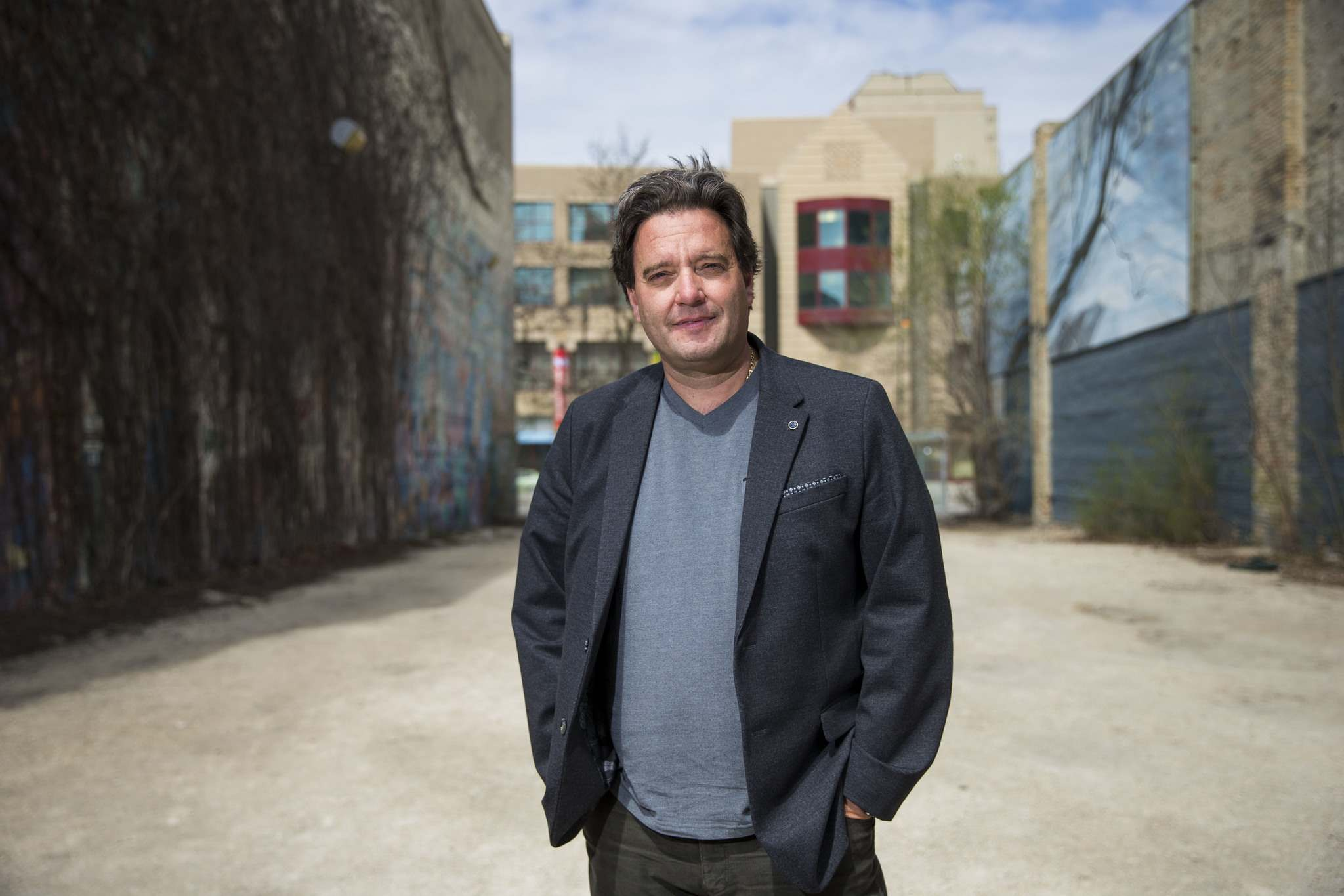 MIKAELA MACKENZIE / WINNIPEG FREE PRESS</p><p>Stefano Grande says the need for public toilets downtown has steadily increased.</p>