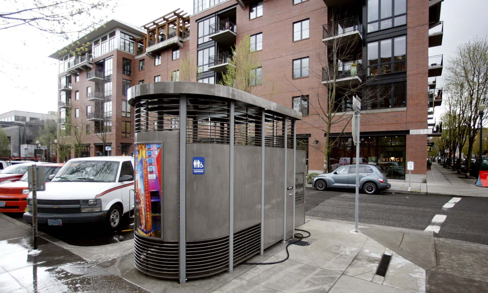 RICK BOWMER / THE ASSOCITAED PRESS FILES</p><p>The &#8216;Portland Loo&rsquo; is a solar-powered, 24-hour-a-day outdoor public restroom. There are more than 30 in the Oregon city.</p>