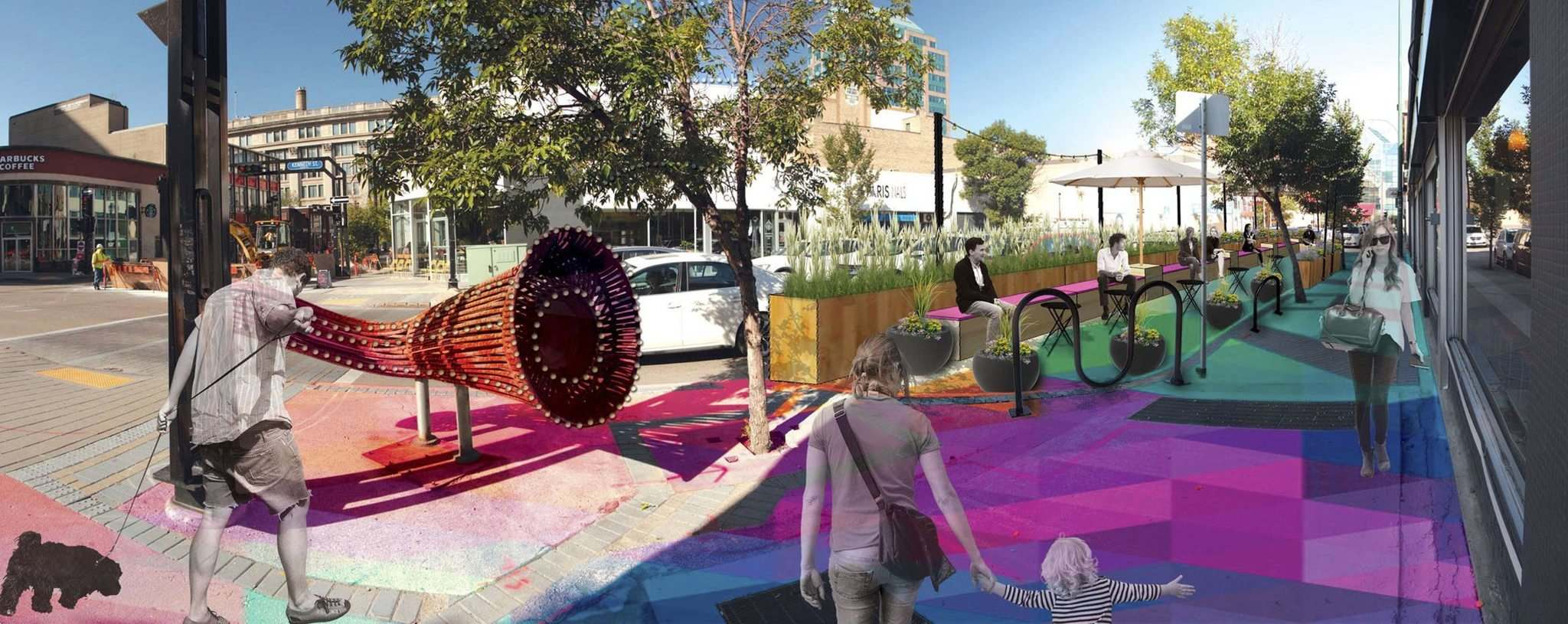 <p>The Downtown Winnipeg BIZ is planning to install two pop-up parks in the city's core this summer and to activate a backlane space to host events.</p>