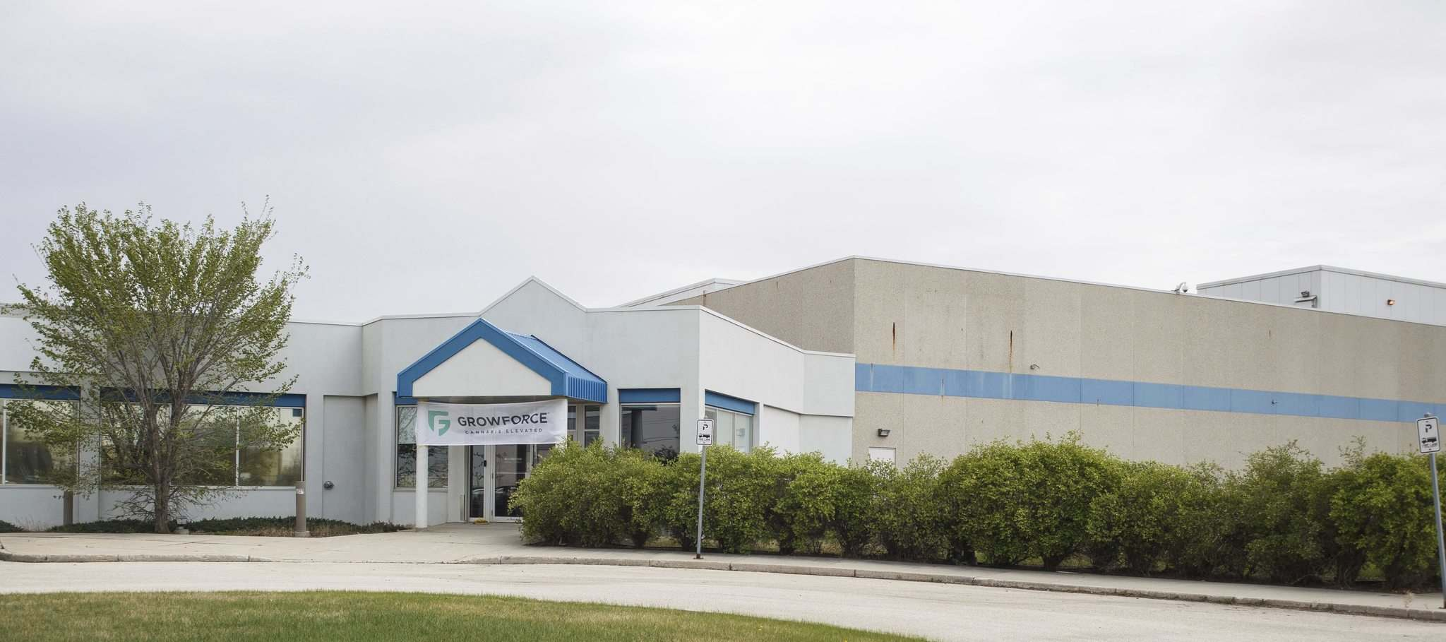 GrowForce Holdings will locate in a former meat processing facility which has sat empty for about eight years. (Mike Deal / Winnipeg Free Press)</p>