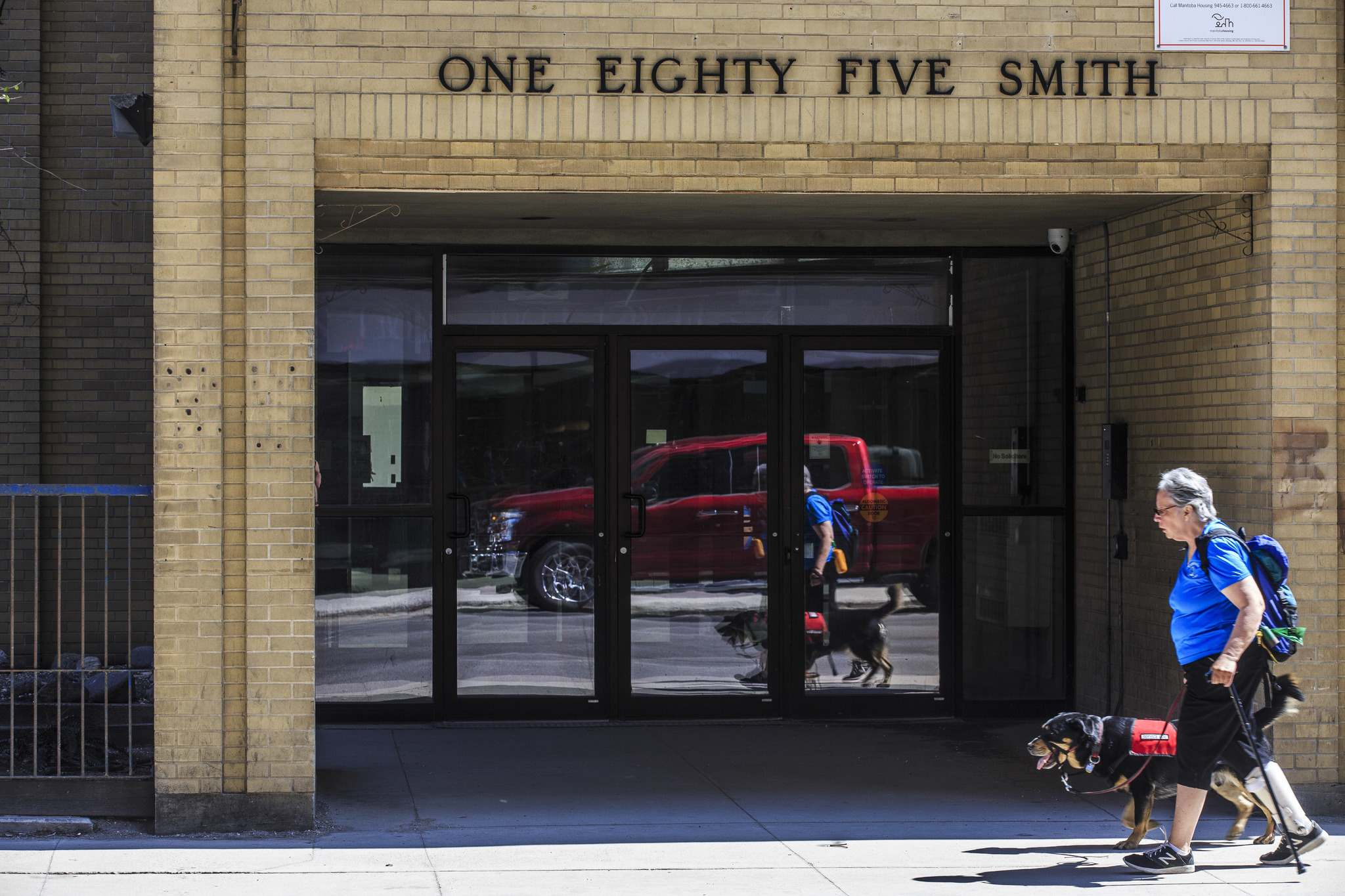 MIKE DEAL / WINNIPEG FREE PRESS</p><p>Edison Properties has purchased 185 Smith St. from the province for $16.2 million.</p>