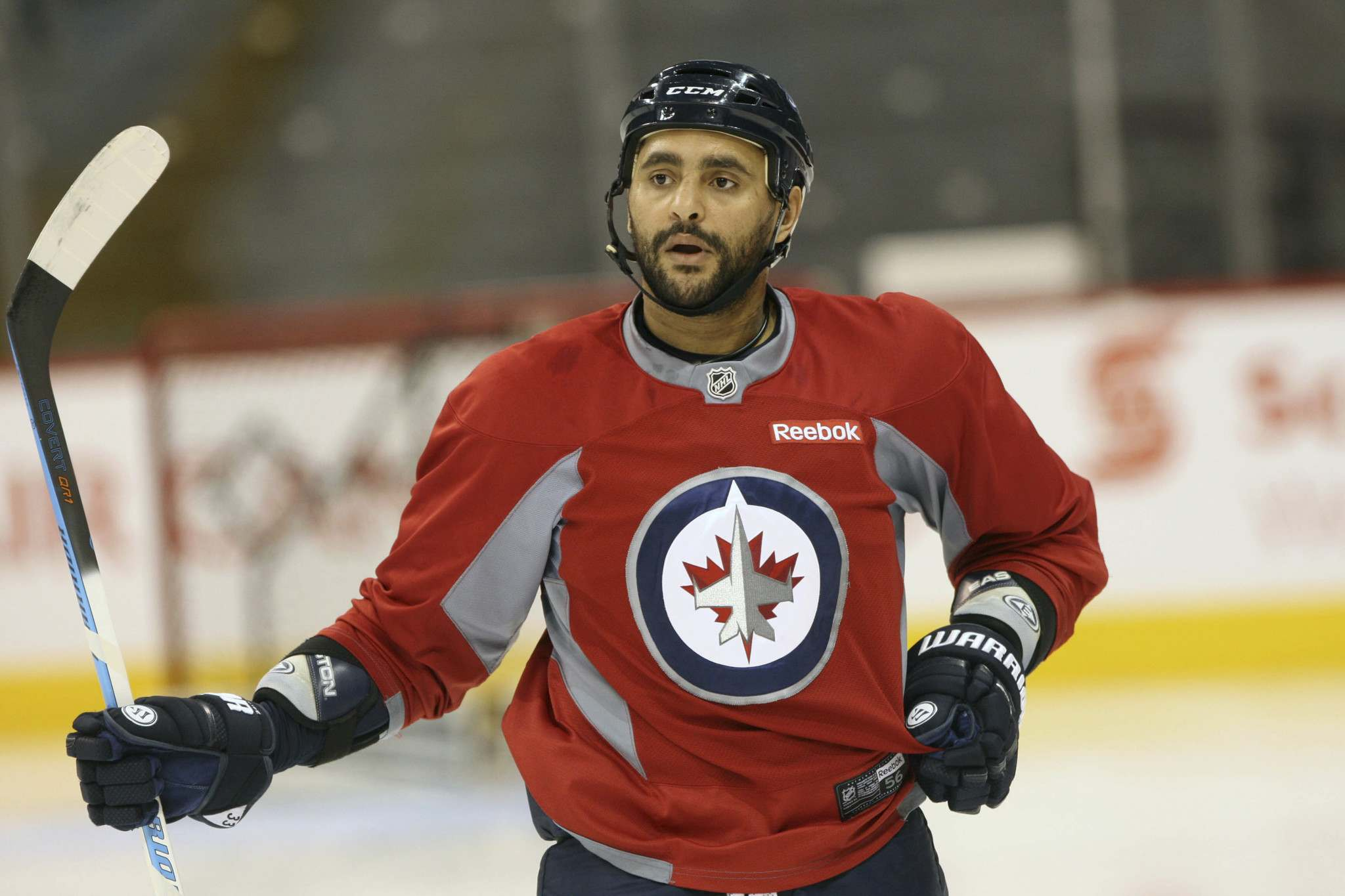 </p><p>JOE BRYKSA / WINNIPEG FREE PRESS FILES</p><p>Dustin Byfuglien, 34, has two years remaining on his contract, with an average annual cap hit of $7.6 million. He suffered two ankle injuries and a concussion last year and played in only 42 of the club's 82 regular-season games.</p></p>