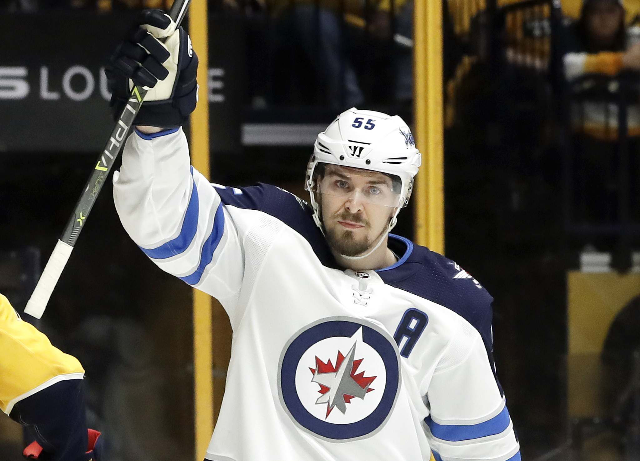 (AP Photo/Mark Humphrey)</p><p>Winnipeg Jets center Mark Scheifele celebrates after scoring a goal against the Nashville Predators. The Jets will need more production from players not named Scheifele if they are to have any chance of beating the Vegas Golden Knights in the third round of the playoffs.</p>
