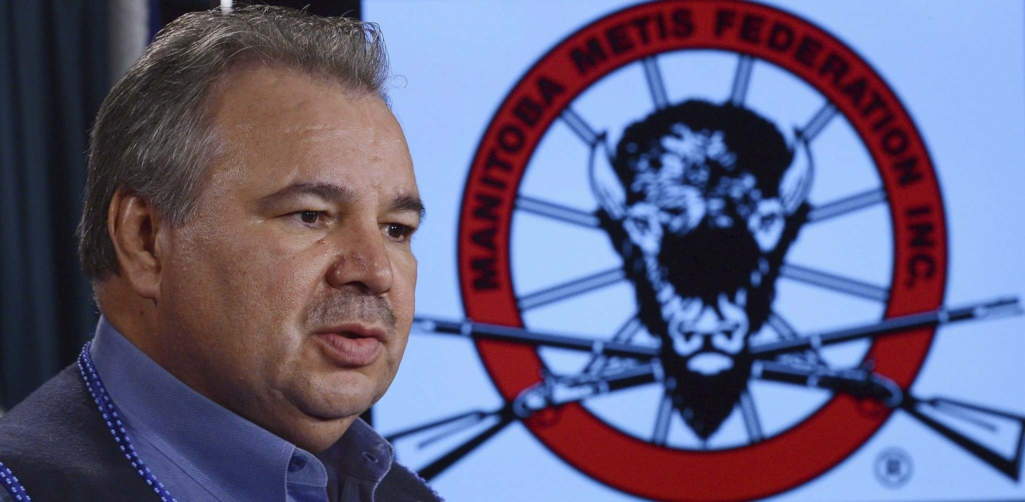 David Chartrand, president of the Manitoba Metis Federation (Sean Kilpatrick / The Canadian Press files)</p>