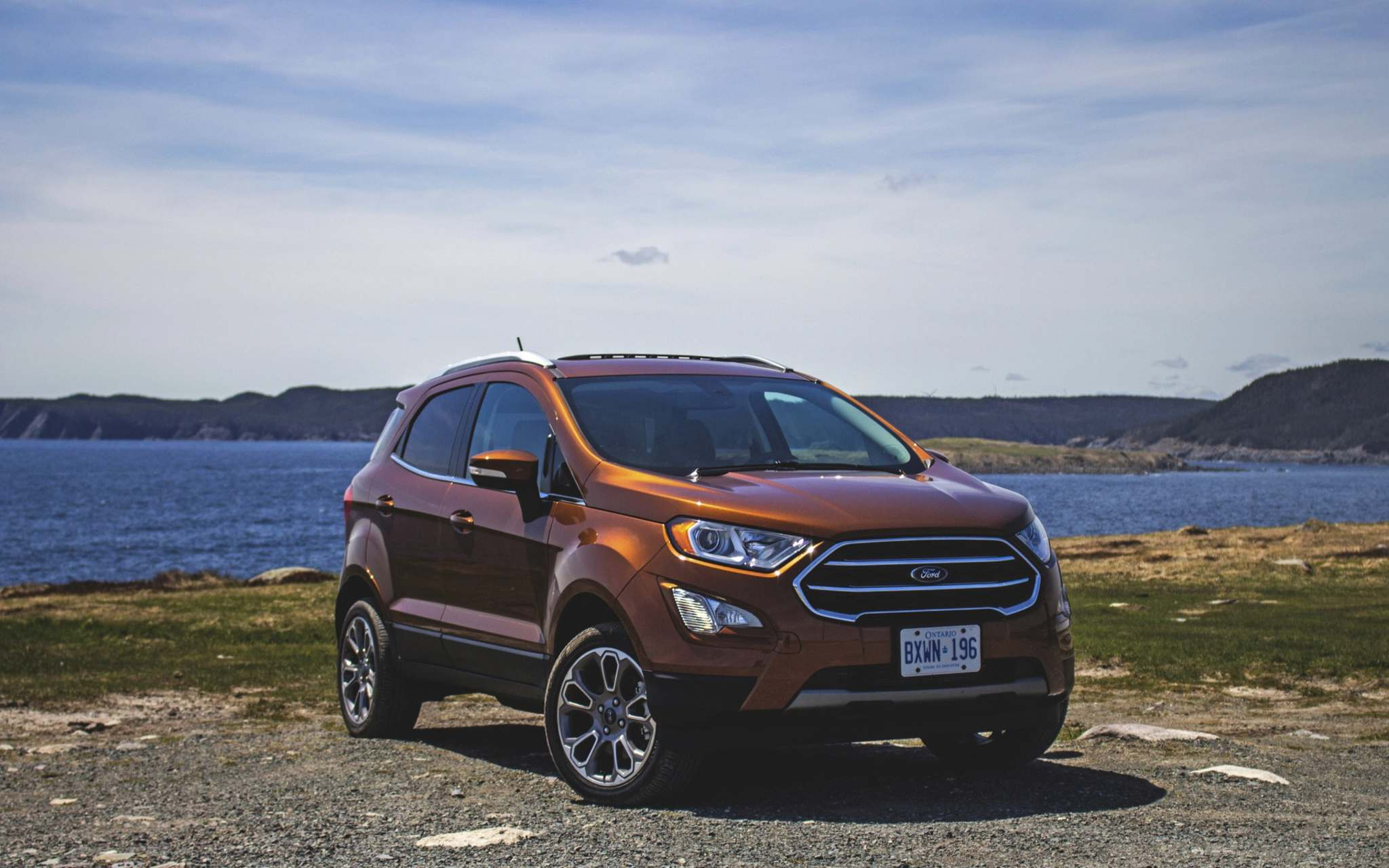 LC MediaThe motorcycle-sized, one-litre EcoBoost motor found in the 2018 Ford EcoSport SUV delivers excellent fuel economy and surprising performance for such a small engine.