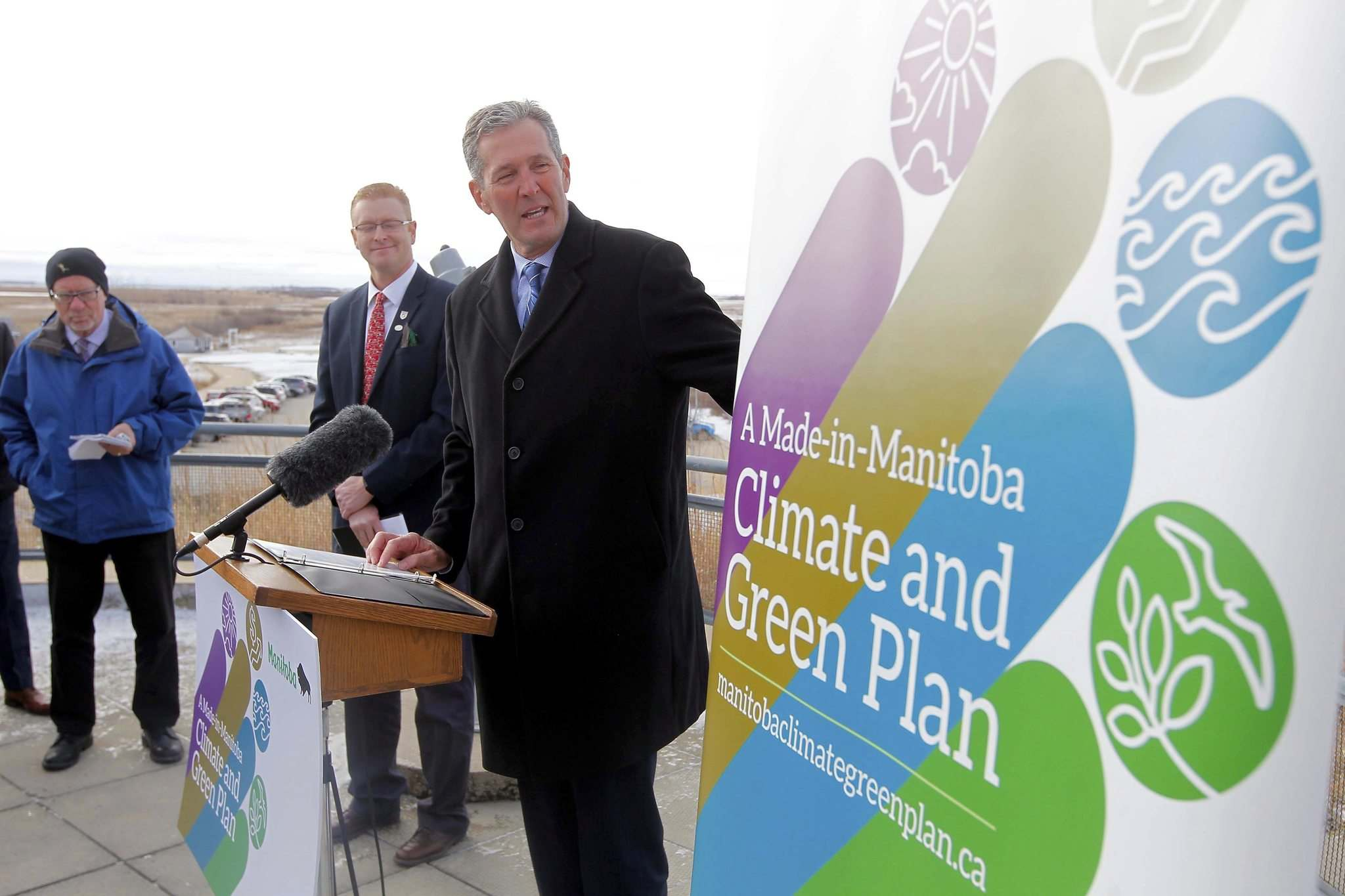 BORIS MINKEVICH / WINNIPEG FREE PRESS files</p><p>Manitoba&rsquo;s truck drivers expected more from the Made-in-Manitoba Climate and Green Plan, which was unveiled by Premier Brian Pallister last October.</p>