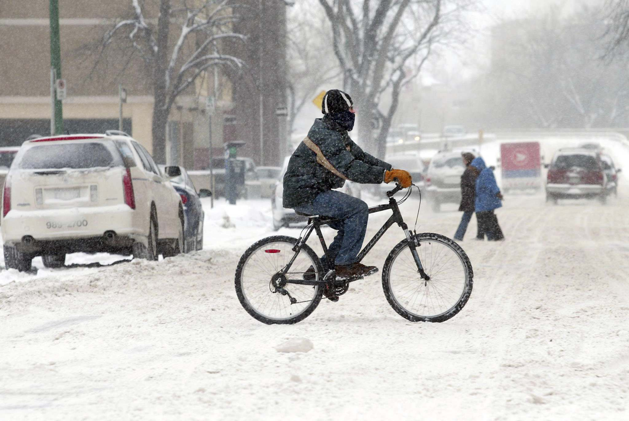 WINNIPEG FREE PRESS FILES</p><p>The city will change the way it clears snow from sidewalks and bike paths.</p>