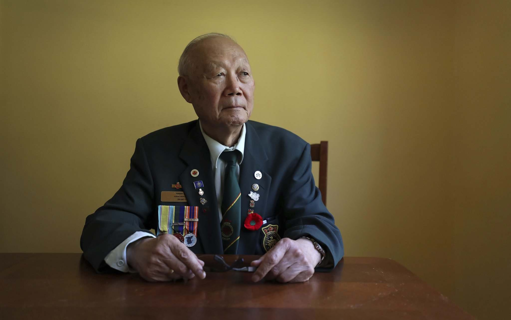 RUTH BONNEVILLE / WINNIPEG FREE PRESS</p><p>Mr. Harry Lee, 81, president of Manitoba Korean Seniors Association is hopeful but skeptical that North and South Korea will reunite.</p>