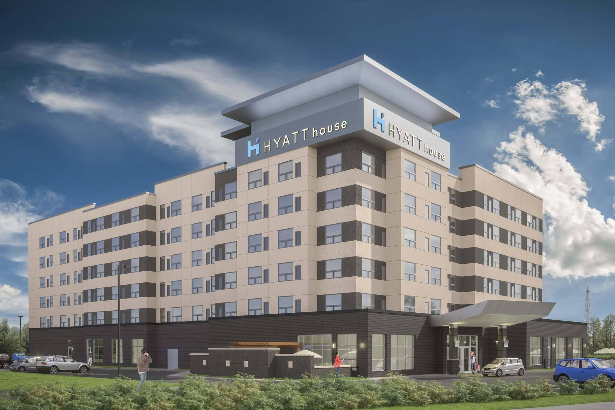 KOTHARI GROUP</p><p>Winnipeg&rsquo;s first Hyatt House is expected to open next summer. It will feature 3,500 square feet of meeting space on the main floor, a swimming pool and a gym.</p></p>