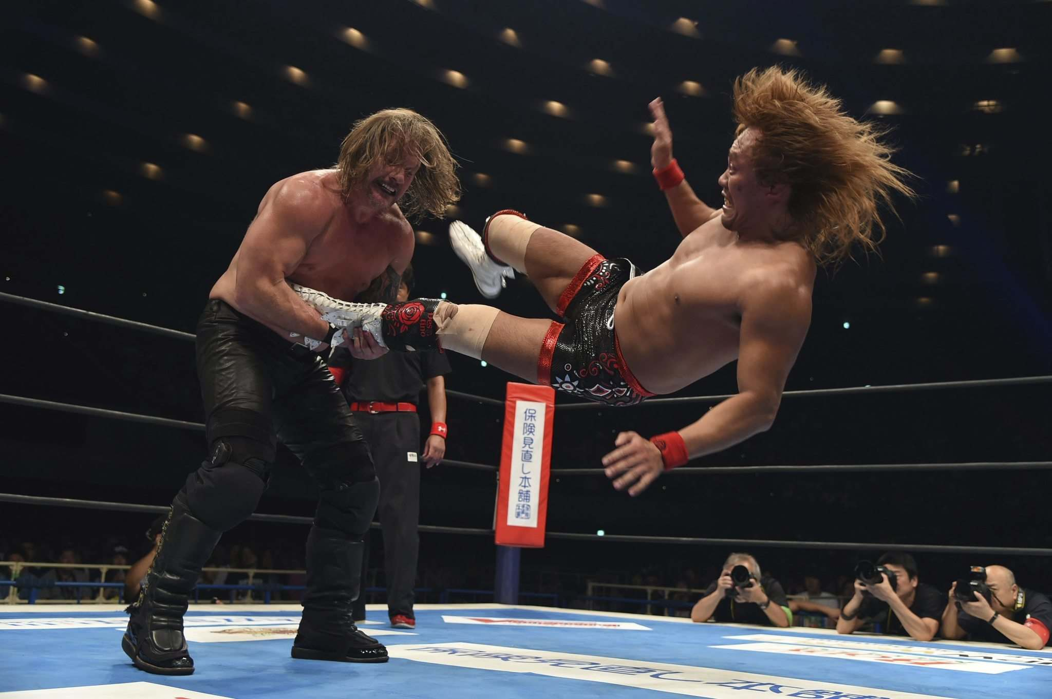 Chris Jericho made his return to Japanese wrestling this year and claimed the second-most prestigious prize in NJPW after defeating Tetsuya Naito to win the IWGP intercontinental championship. (TV ASAHI NJPW, AXS TV)</p>