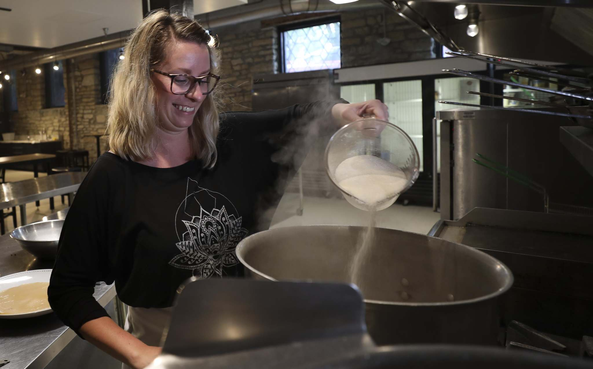 At first Leclair was content running Wolseley Kombucha out of her Alloway Avenue home, but as demand increased she found herself searching for commercial kitchen space.