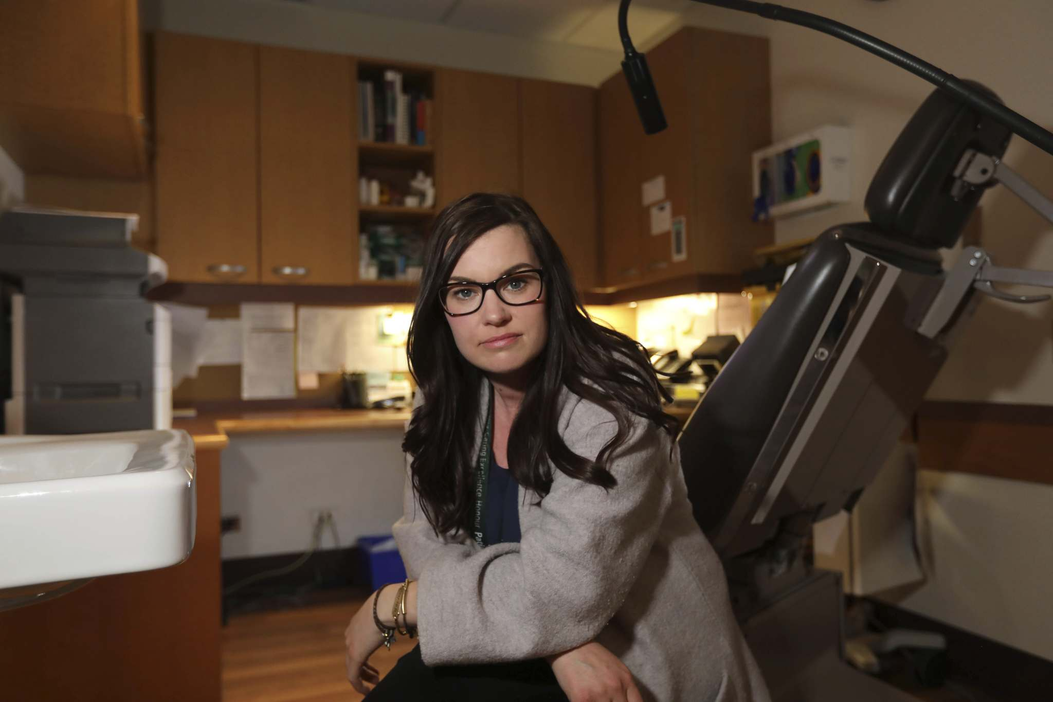 Forensic nurse Ashley Smith says giving control back to patients as soon as possible is a key part of the healing journey. A forensic nurse would have specialized knowledge of the legal system. (Ruth Bonneville / Winnipeg Free Press)</p>