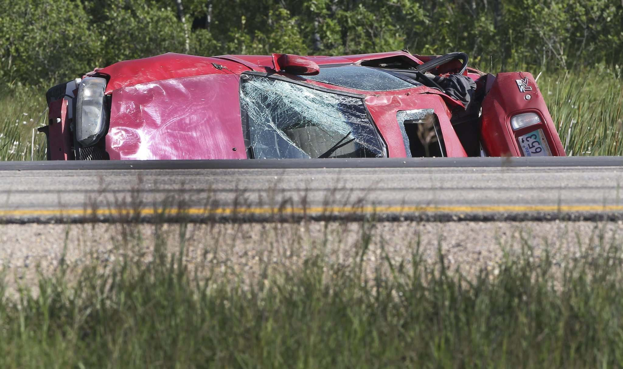 JOE BRYKSA / WINNIPEG FREE PRESS FILESNot wearing seatbelts accounts for 40 per cent of road fatalities in Manitoba, the province&#39;s public insurance company reports.</p>
