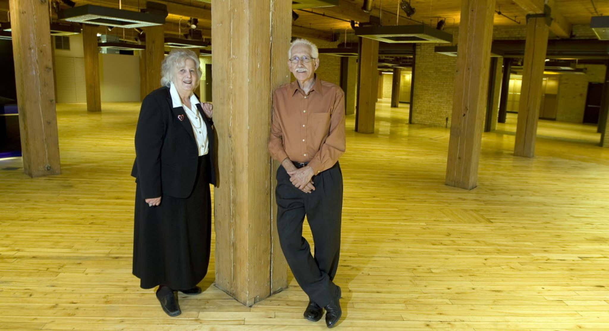 Cynthia And Fred Brick In 2011. The Couple Opened Their Downtown Furniture  Store In 1969