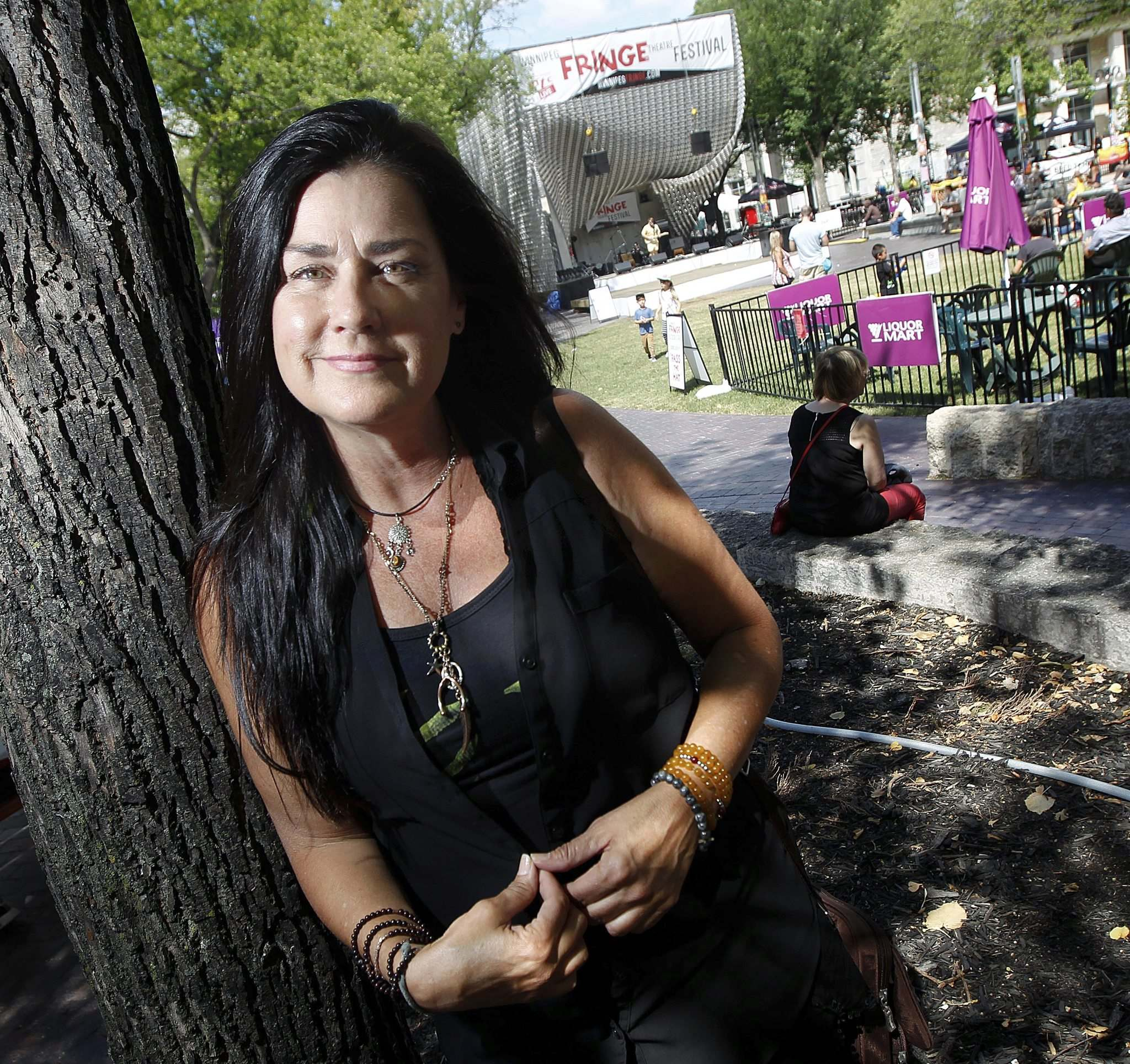 <em>Squeeze My Cans</em> is a one-person show about Cathy Schenkelberg's experience with Scientology. The religion declared her a suppressive person in 2011 after leaving Scientology. (Phil Hossack / Winnipeg Free Press)</p>