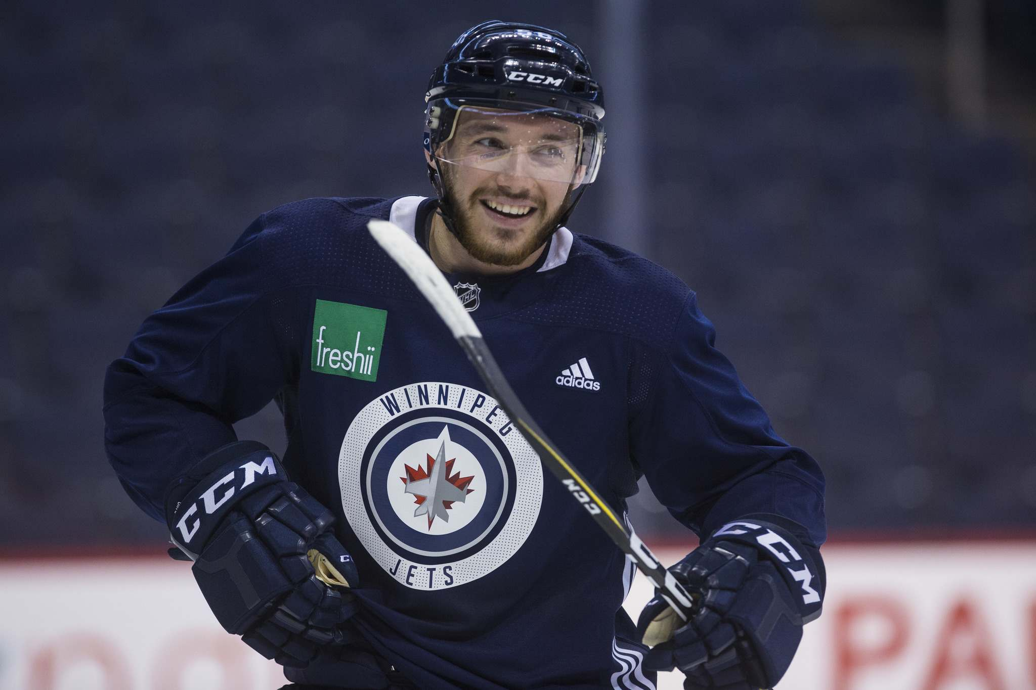 Marko Dano has an arbitration hearing set for July 30. (Mike Deal / Winnipeg Free Press)</p>