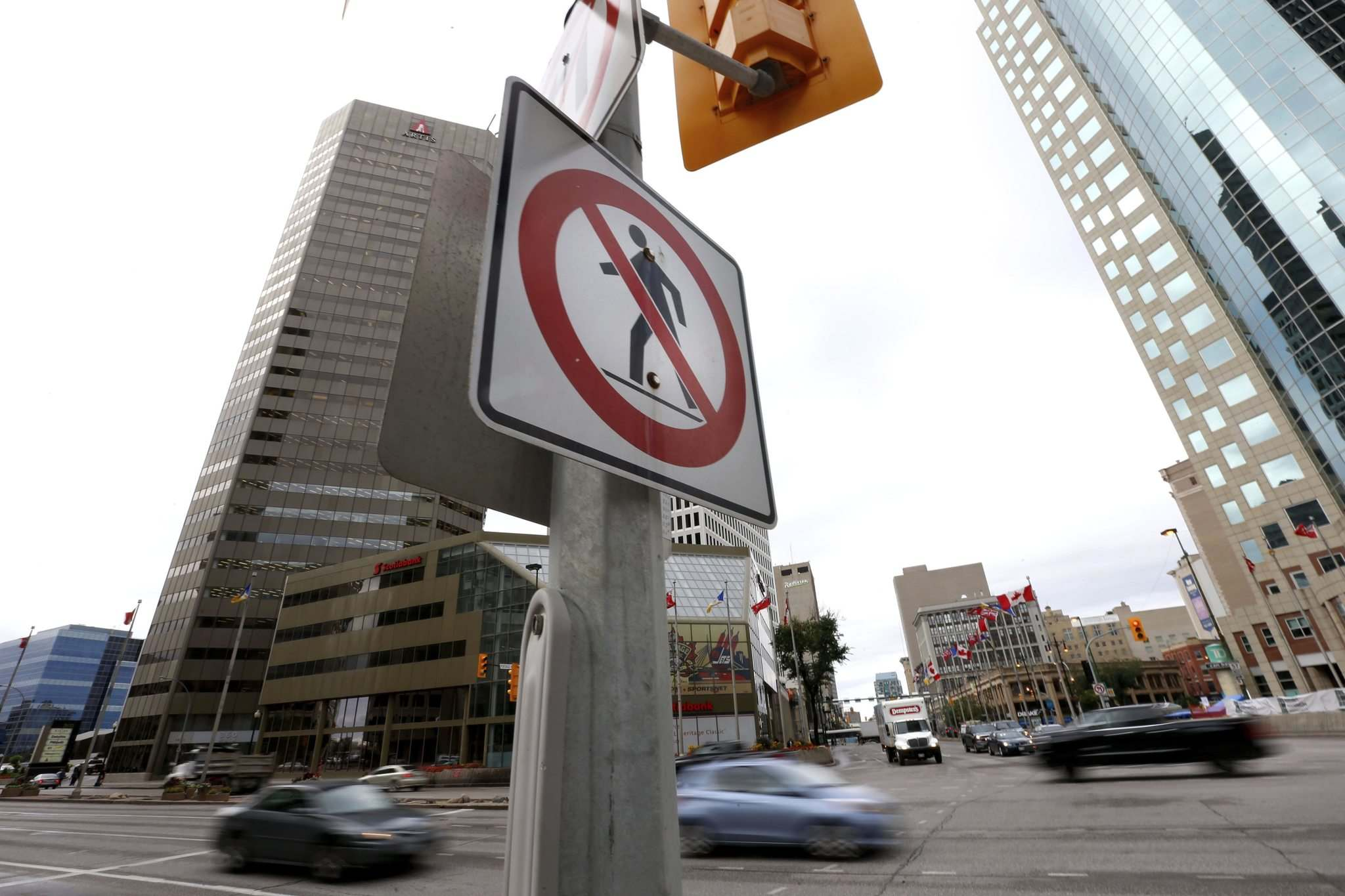WAYNE GLOWACKI / WINNIPEG FREE PRESS FILES</p><p>A plebiscite on reopening Portage and Main to pedestrians will give all Winnipeggers a say on the issue, but that isn't necessarily a fair way to handle the question.</p>