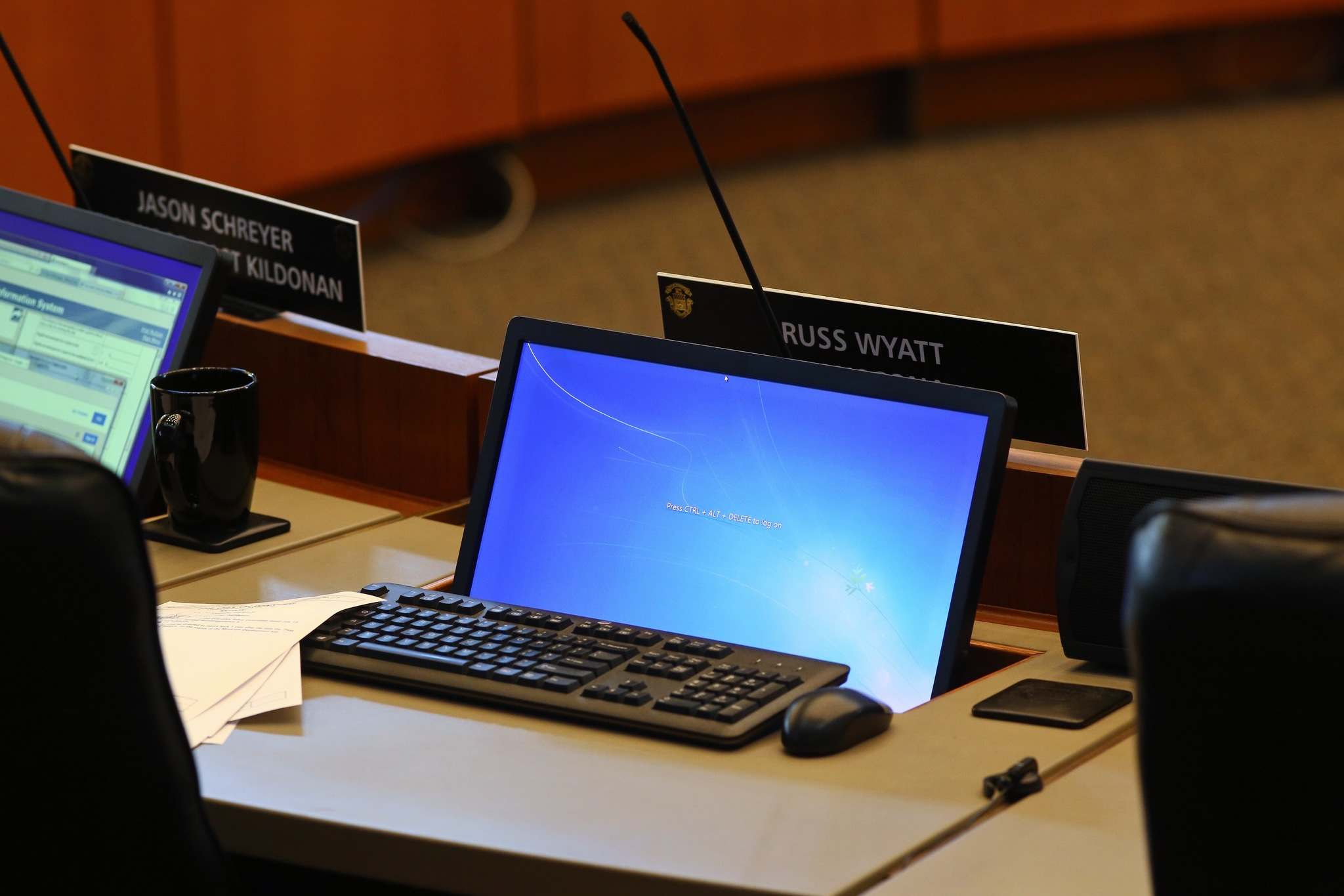 Coun. Russ Wyatt missed last week's city council meeting, the first meeting since the charges were laid. (Mike Deal / Winnipeg Free Press Files)</p>