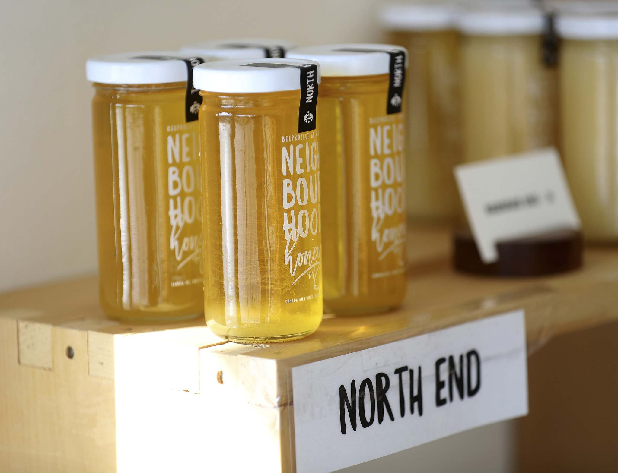 Nikkel's favourite local honey comes from Beeproject's hives at Marymound School in the North End.