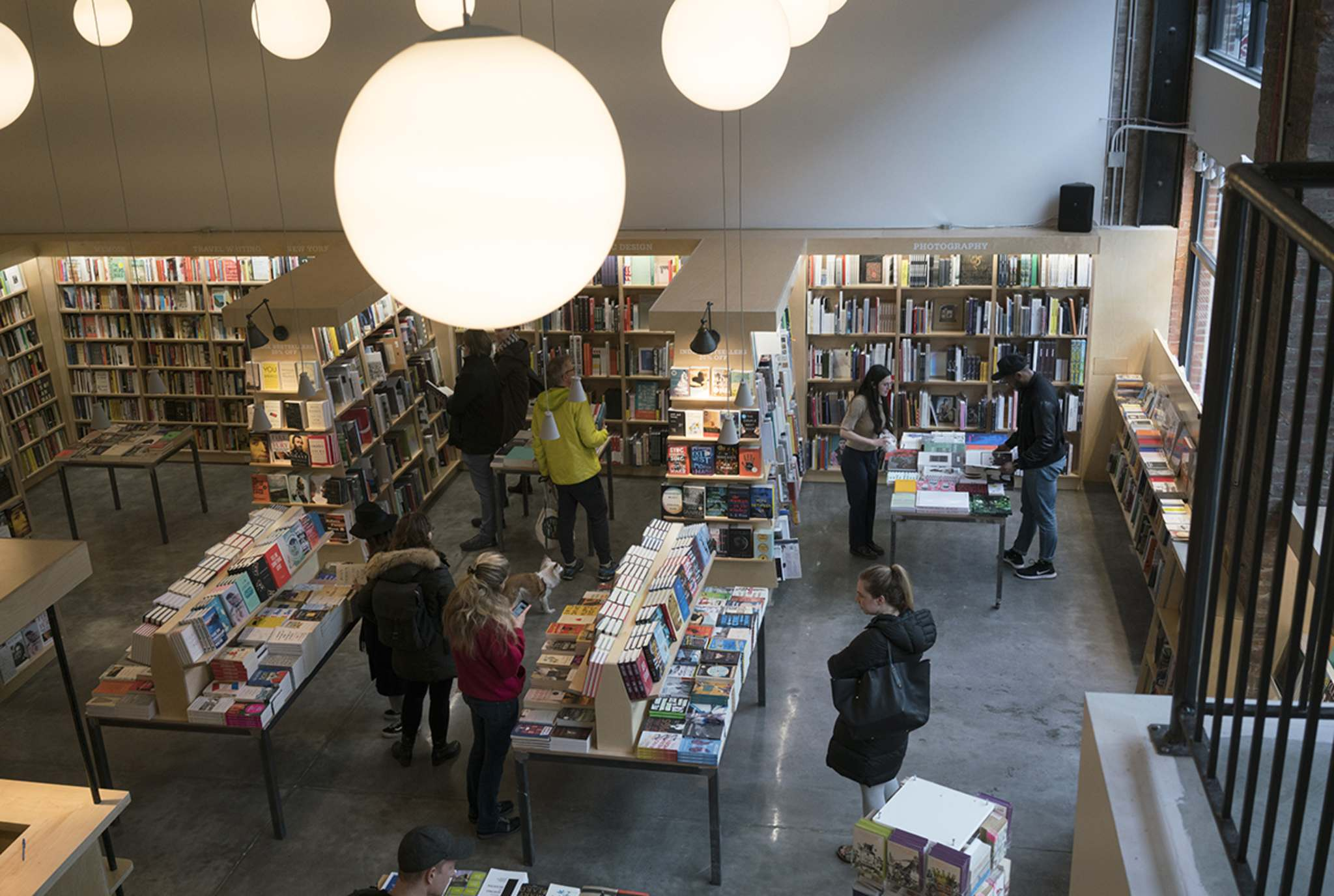 McNally Jackson has thrived and found a receptive customer base more than willing to spend their money in-store.