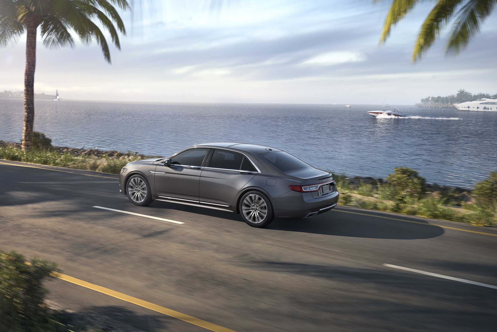 LincolnThe 2018 Lincoln Continental presents a commanding and yet simple exterior, with details that are impressive, yet not overwhelming.