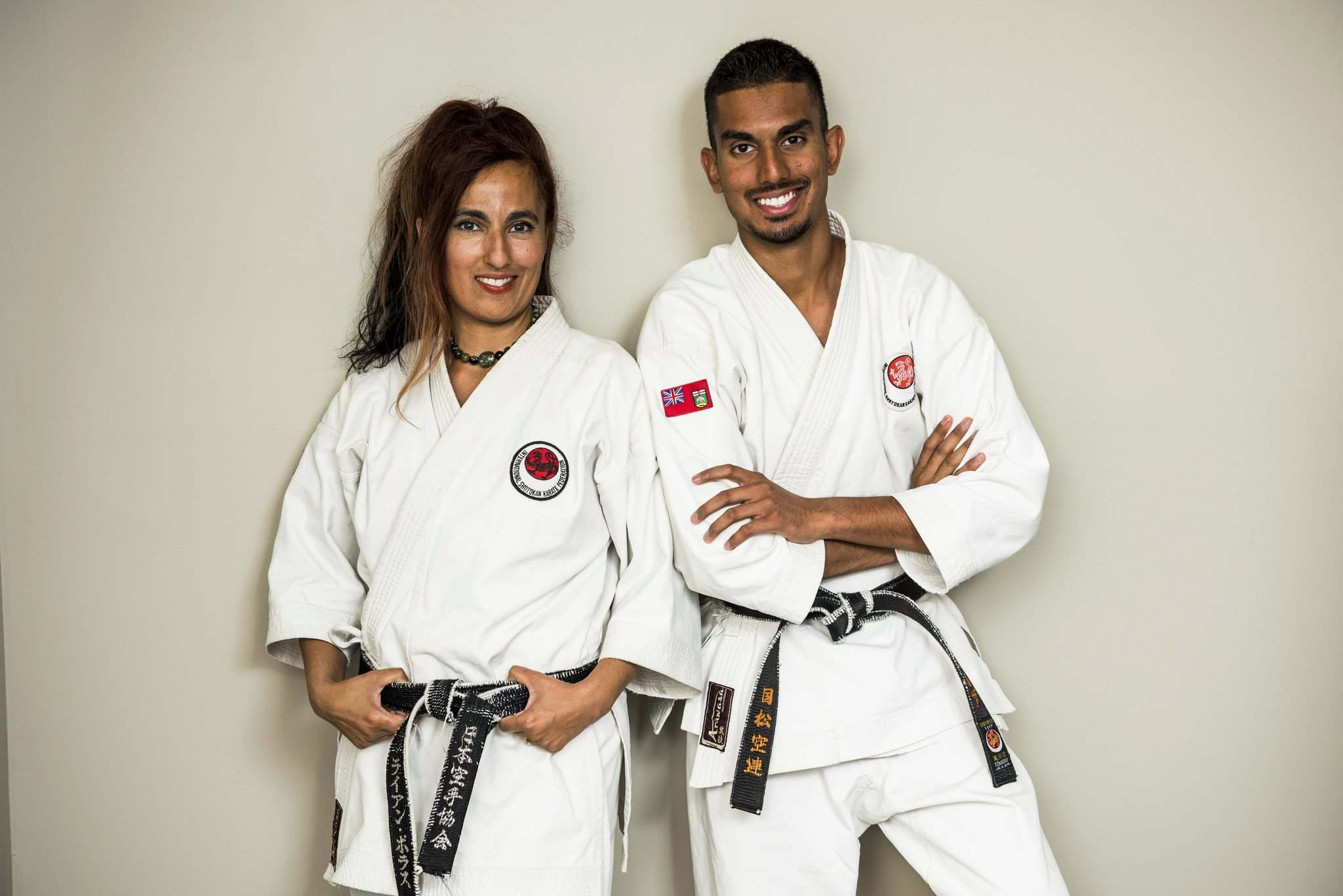 DAVID LIPNOWSKI / WINNIPEG FREE PRESS</p><p>Sofia Mirza and her son Rahim train together six days a week at several karate clubs around Winnipeg, spending several hours each day working on their sport.</p></p>