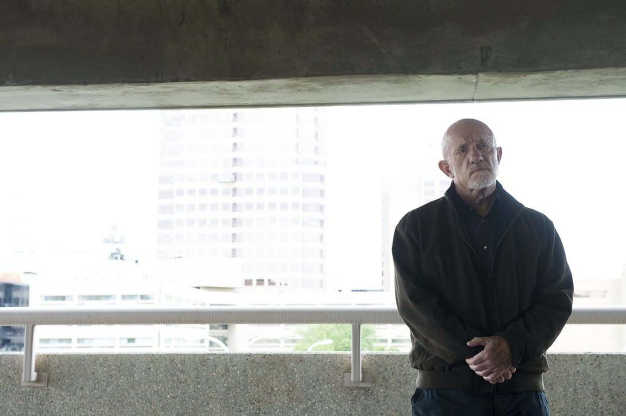 Sony Pictures Television</p><p>Mike Ehrmantraut (Jonathan Banks) takes a money-laundering gig as a security consultant in Season 4 of Better Call Saul.</p></p>