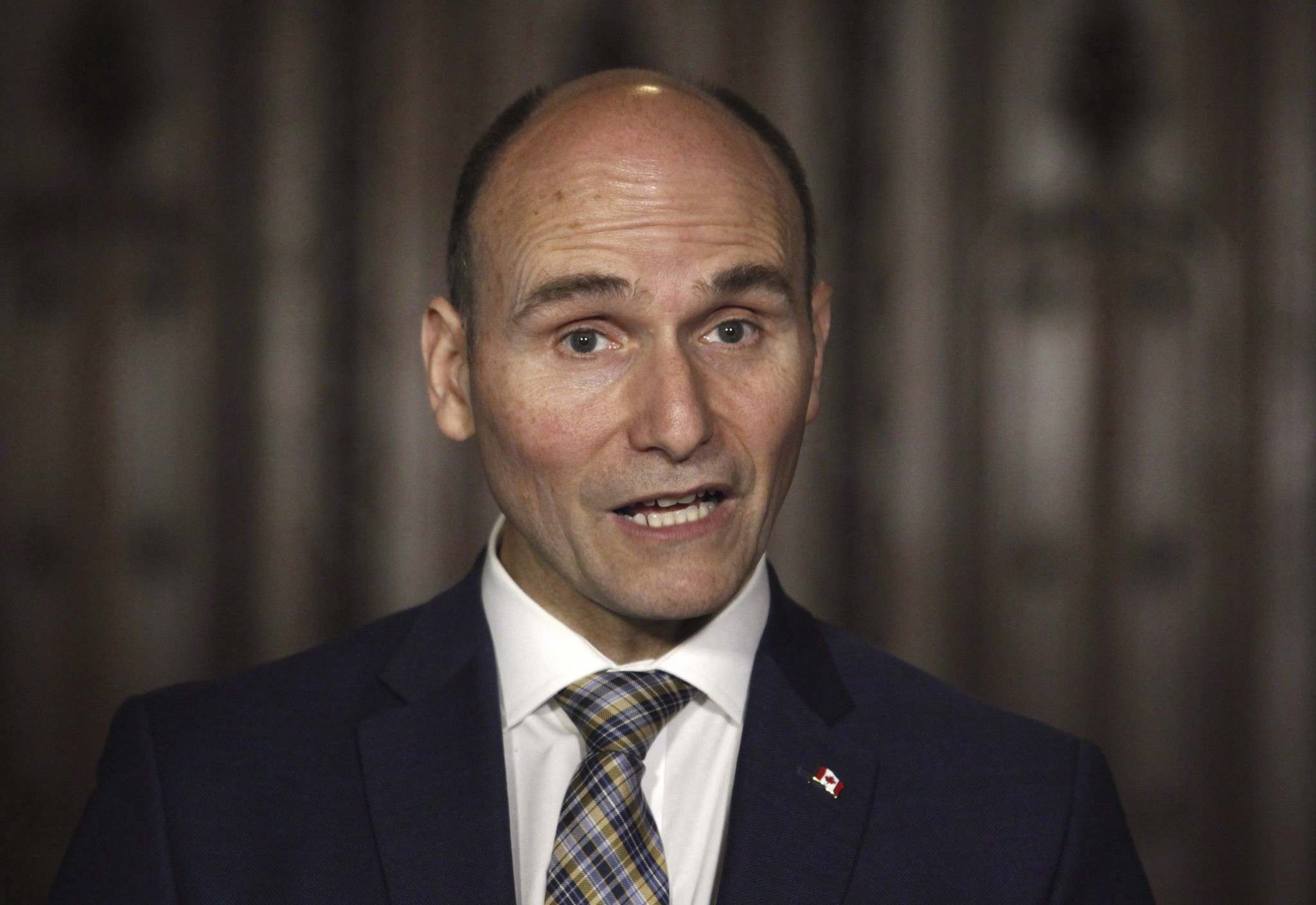 Patrick Doyle / The Canadian Press</p><p>Social Development Minister Jean-Yves Duclos. A long-anticipated plan to fight poverty in Canada is meant to reduce poverty by 50 per cent by 2030.</p>