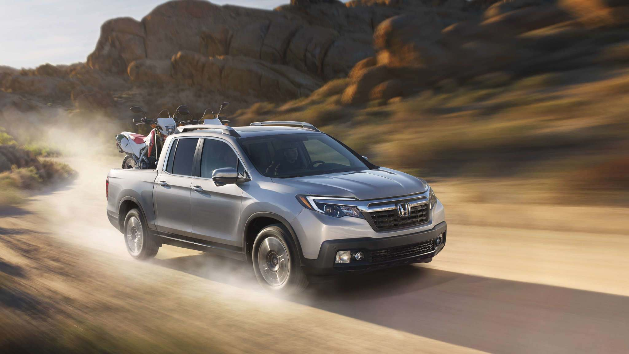 HondaThe 2019 Honda Ridgeline comes standard with a 3.5-litre V-6 engine and puts out 280 horsepower and 262 pound-feet of torque.