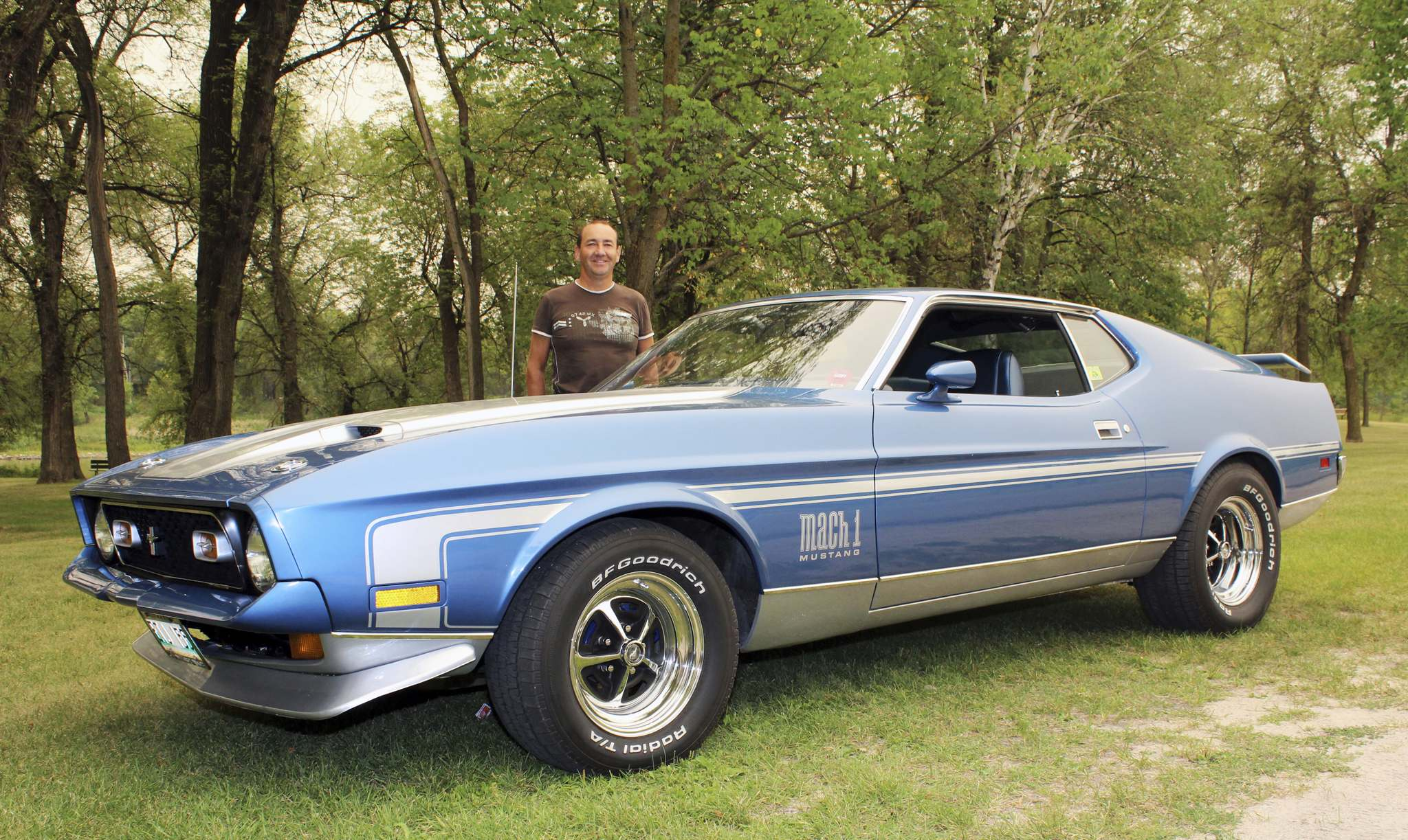 Photos by Larry D'Argis / Winnipeg Free PressDuncan McDougall was put on the trail of his 1971 Mustang Mach I in 2006 after a conversation with a friend. The car was an original, rust-free vehicle in good condition with a rebuilt engine when McDougall bought it.