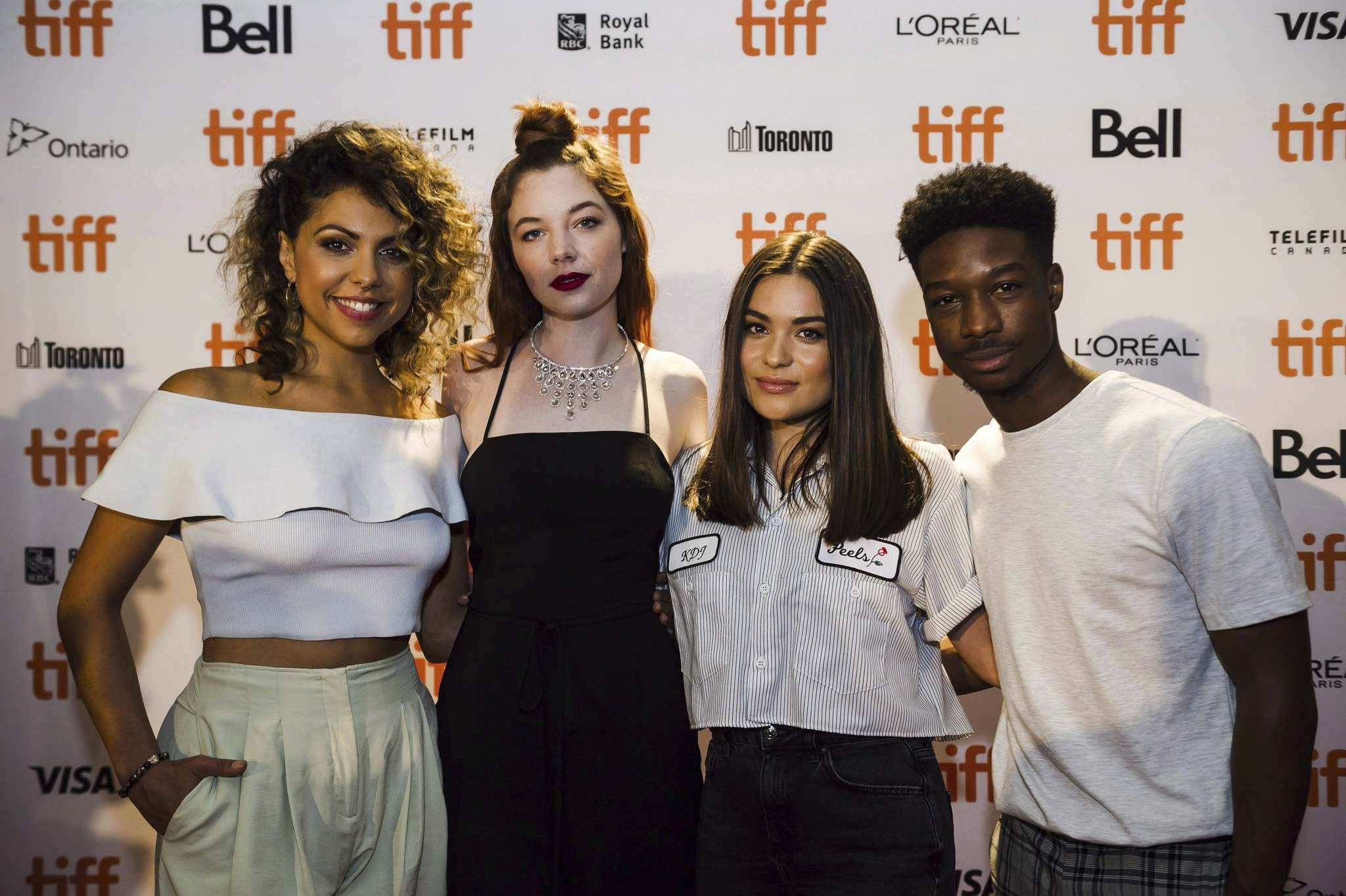 Christopher Katsarov / The Canadian Press Files</p><p>TIFF&rsquo;s Rising Stars, from left: Jess Salgueiro, Michaela Kurimsky, Devery Jacobs and Lamar Johnson.</p>