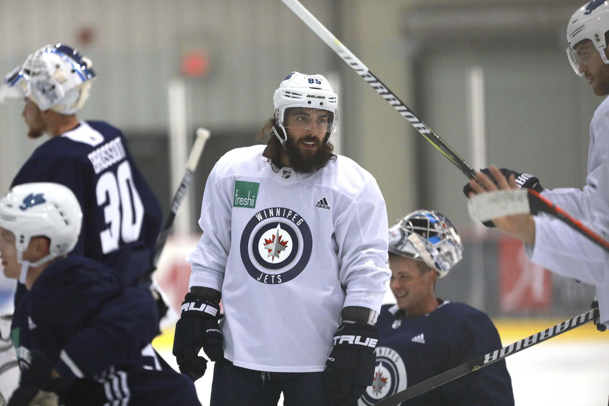 Perreault had 17 goals last season and 22 assists in 70 regular-season games. (Ruth Bonneville / Winnipeg Free Press)</p>