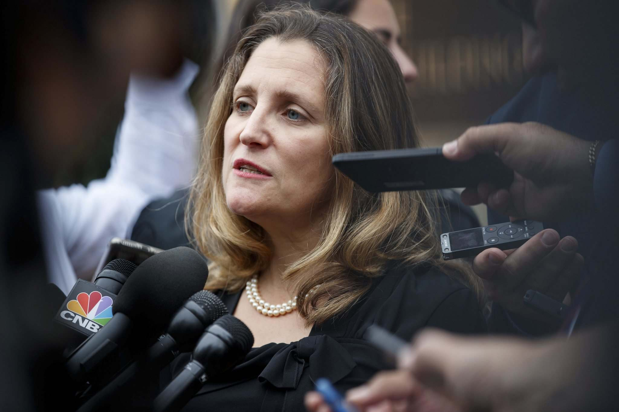 Foreign Affairs Minister Chrystia Freeland (Carolyn Kaster / The Associated Press files)