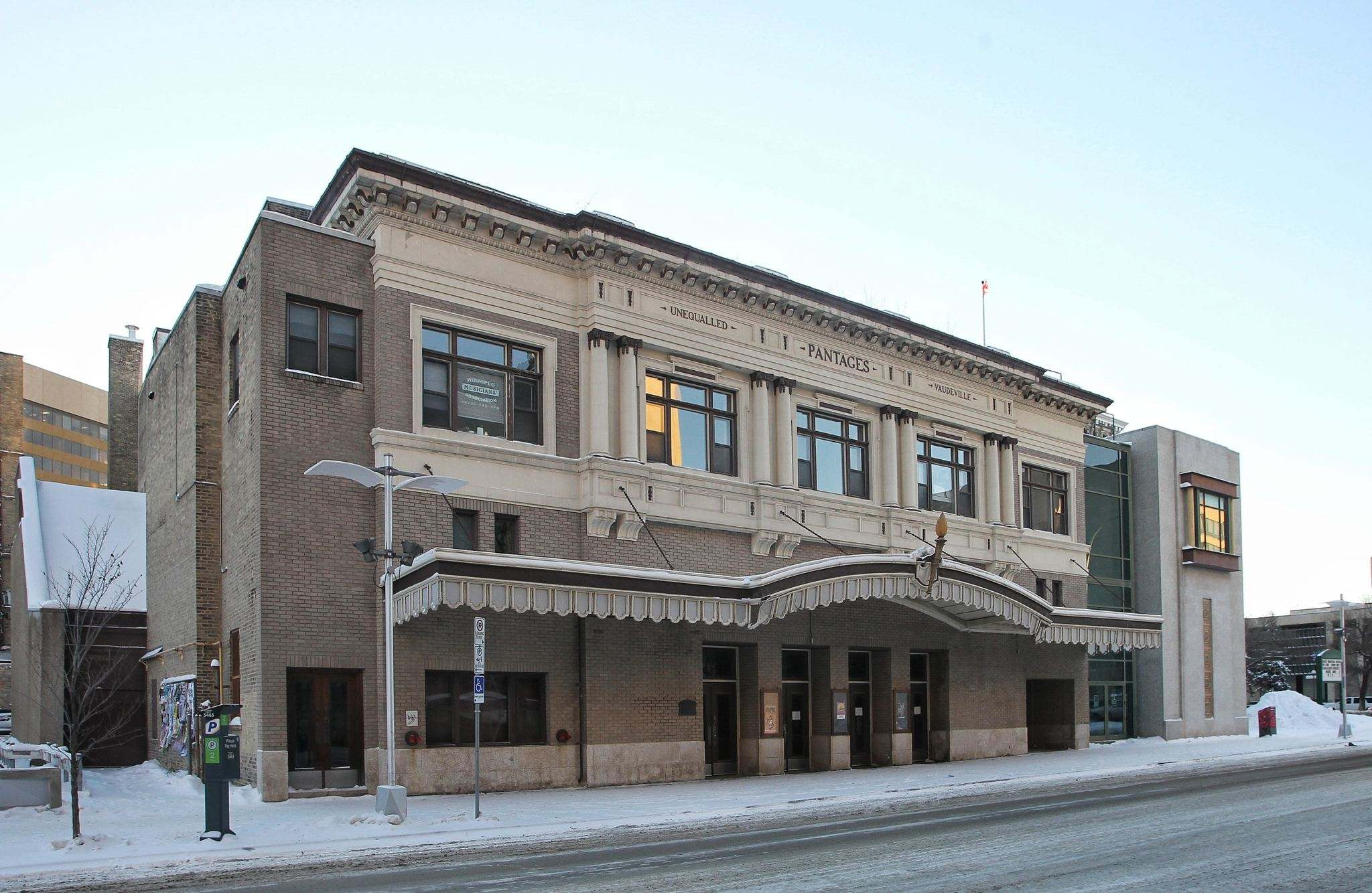 Mike Deal / Winnipeg Free Press Files</p><p>Pantages Playhouse.</p>