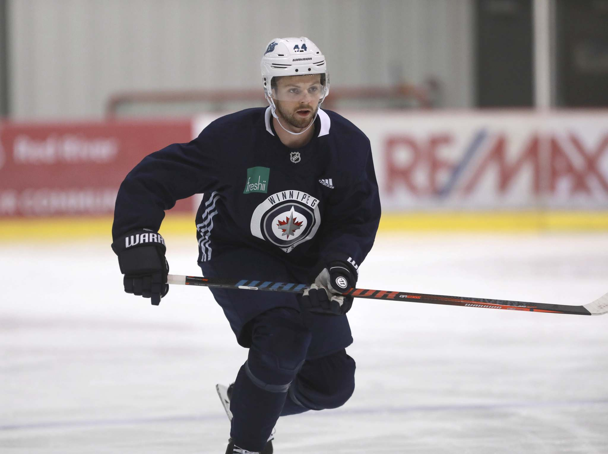 Josh Morrissey worked out with Mark Scheifele over the summer and participated in unofficial team skates and workouts earlier this week.