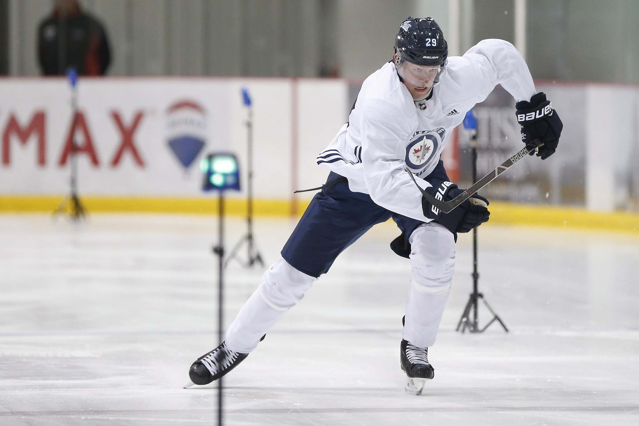 John Woods / The Canadian Press</p><p>Patrik Laine dropped 14 pounds during the summer to weigh in at 215 heading into the season.</p></p>