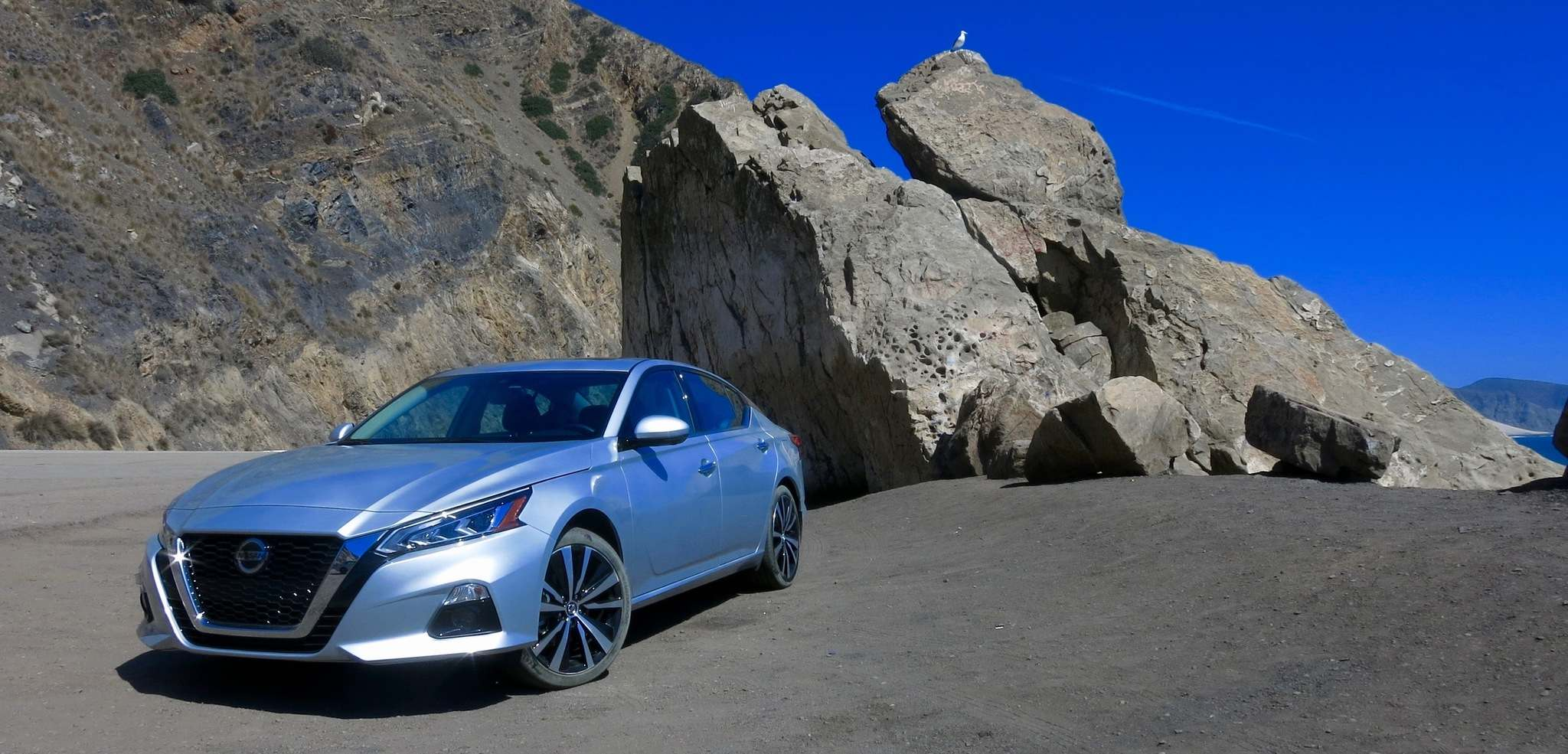 KELLY TAYLOR / WINNIPEG FREE PRESSThe 2019 Nissan Altima has a stylish new design and snazzy interior that wouldn't be out of place in Nissan's luxury brand, Infiniti.