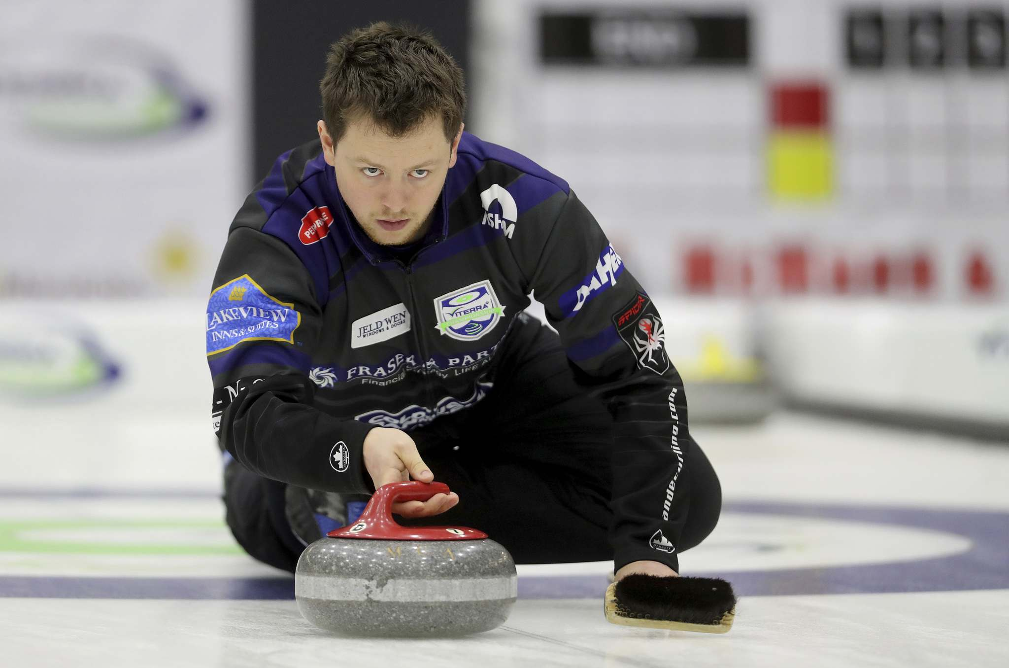 Jason Gunnlaugson&#39;s Winnipeg team has a good chance to win this season&#39;s provincials. (Trevor Hagan / Winnipeg Free Press files)</p>