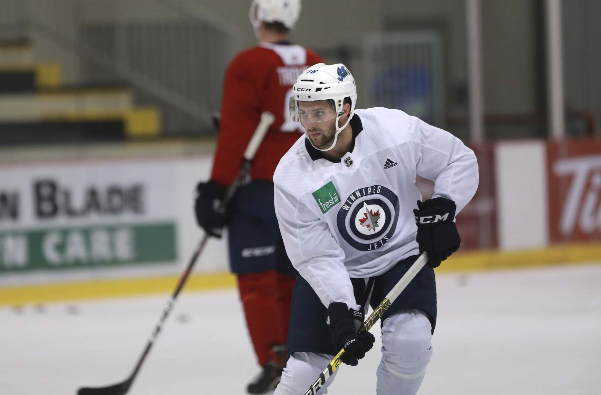 Griffith was drafted by Boston in the fifth round in 2012 and scored six goals and four assists in 30 regular-season games in 2014-15, but since has bounced around to Toronto, Florida and Buffalo and played in only 49 NHL games in the three years since his debut. (Ruth Bonneville / Winnipeg Free Press)</p></p></p>