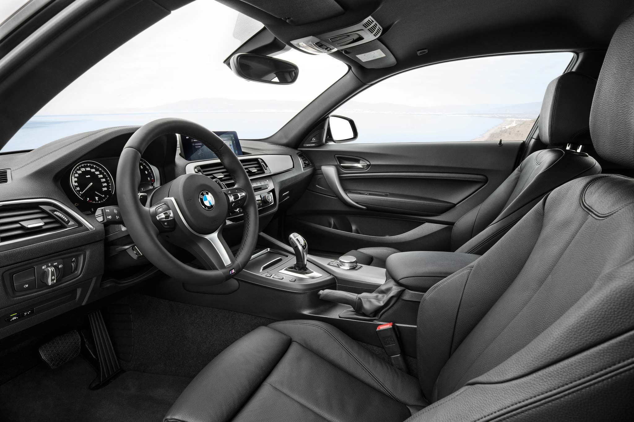 BMWThe enhanced premium package adds a sunroof, navigation, parking sensors and satellite radio.