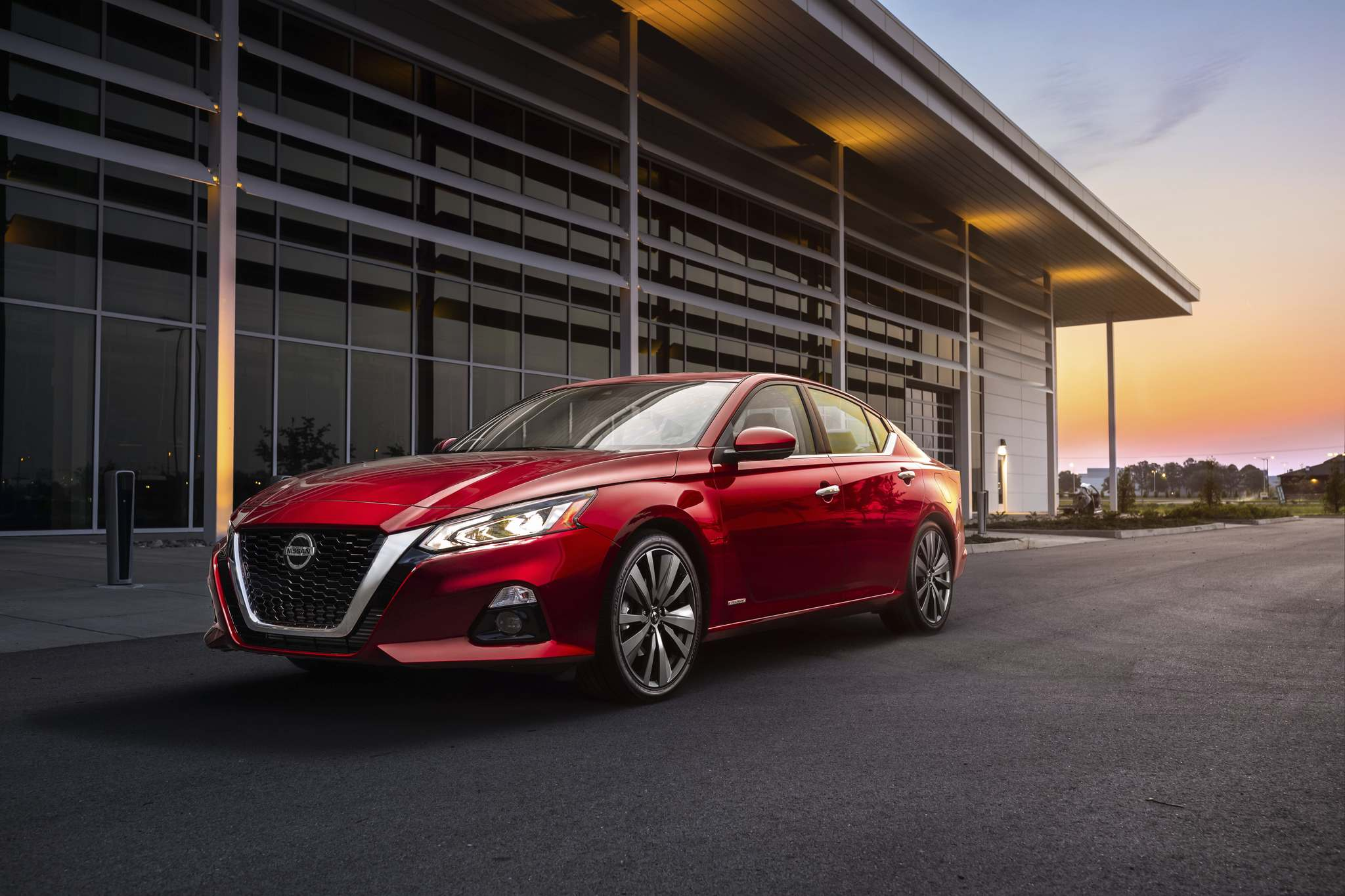 photos by NissanNissan says the 2019 Altima represents the company's biggest investment in a vehicle platform ever. For the 2019 Altima, all-wheel drive is now standard.