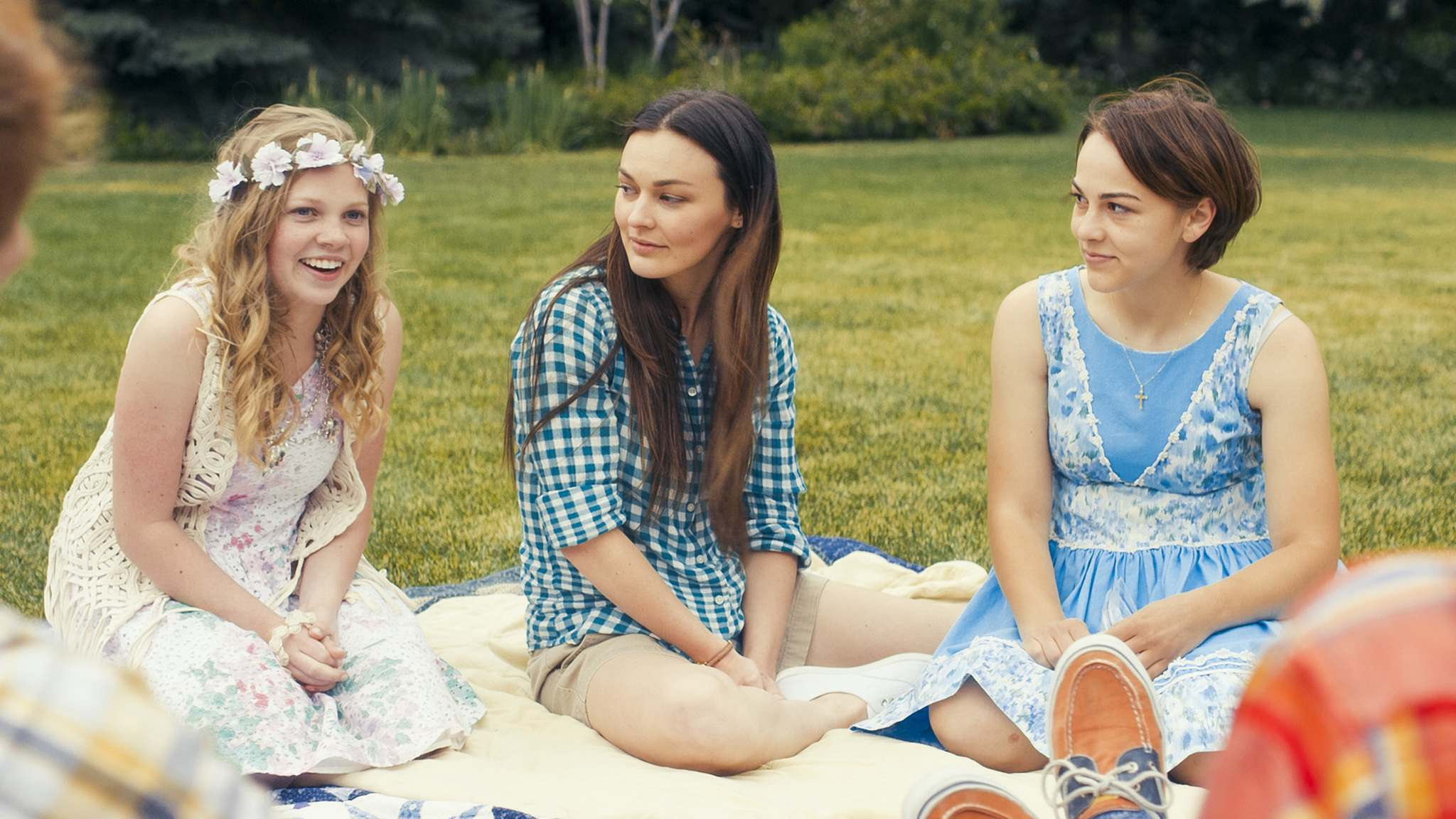Pinnacle Peak Pictures</p><p>Elise Jones (left) as Amy, Melanie Stone as Meg and Allie Jennings as Beth in the latest Little Women adaptation.</p></p>
