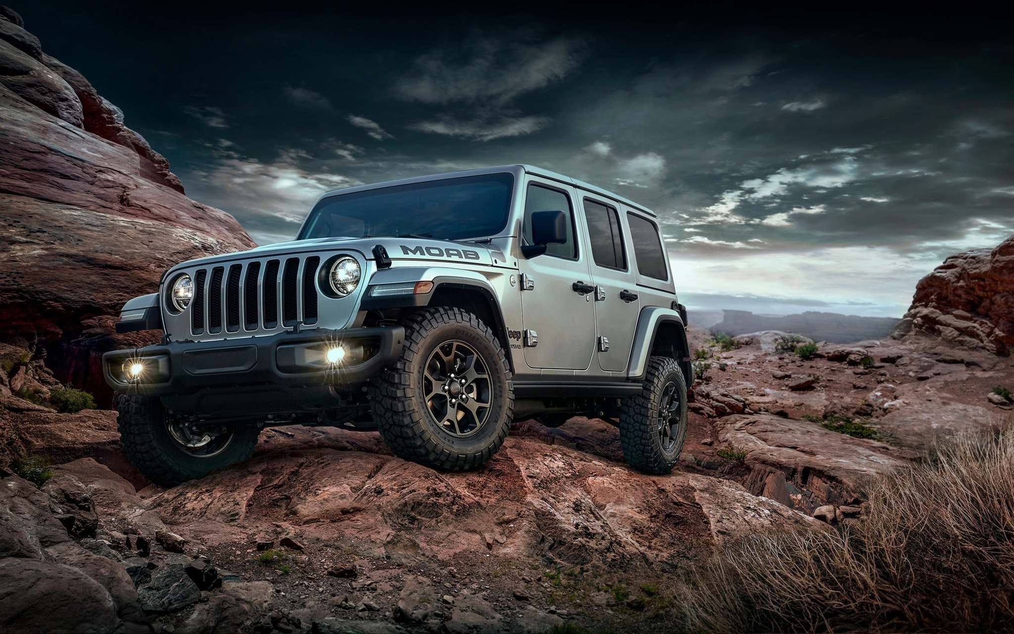 Jeep has added the Moab to its Wrangler lineup for the 2018 model year. (FCA)