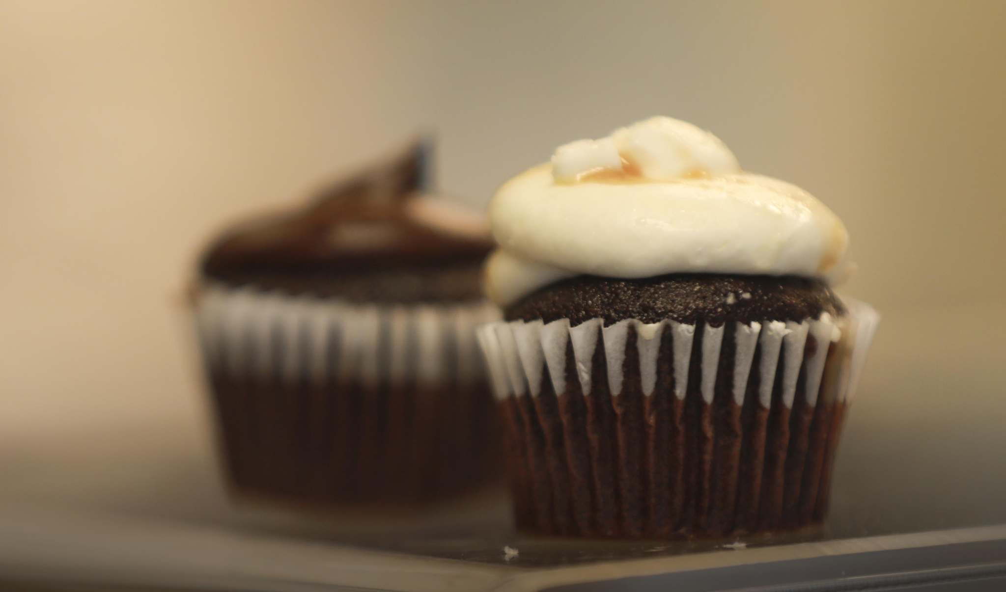 Canteen Coffee's baked goods include cupcakes from Lilac Bakery.</p>