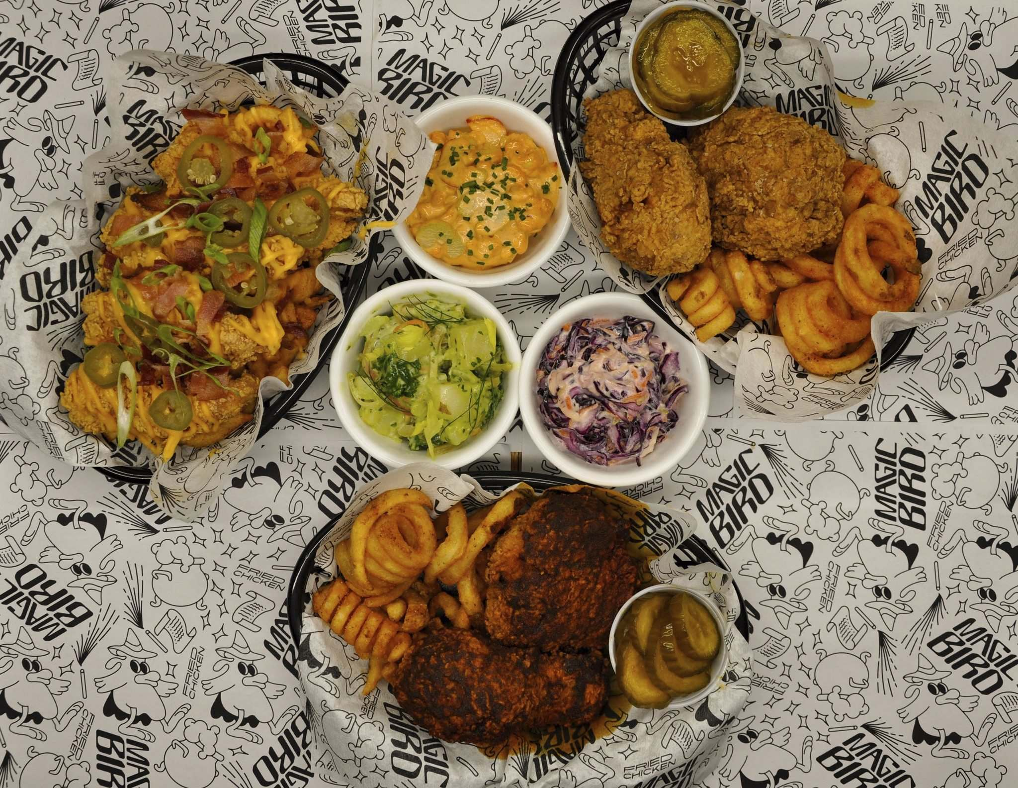 Magic Bird Fried Chicken opens Oct. 31 at the Handsome Daughter. (C. Lucky photos)