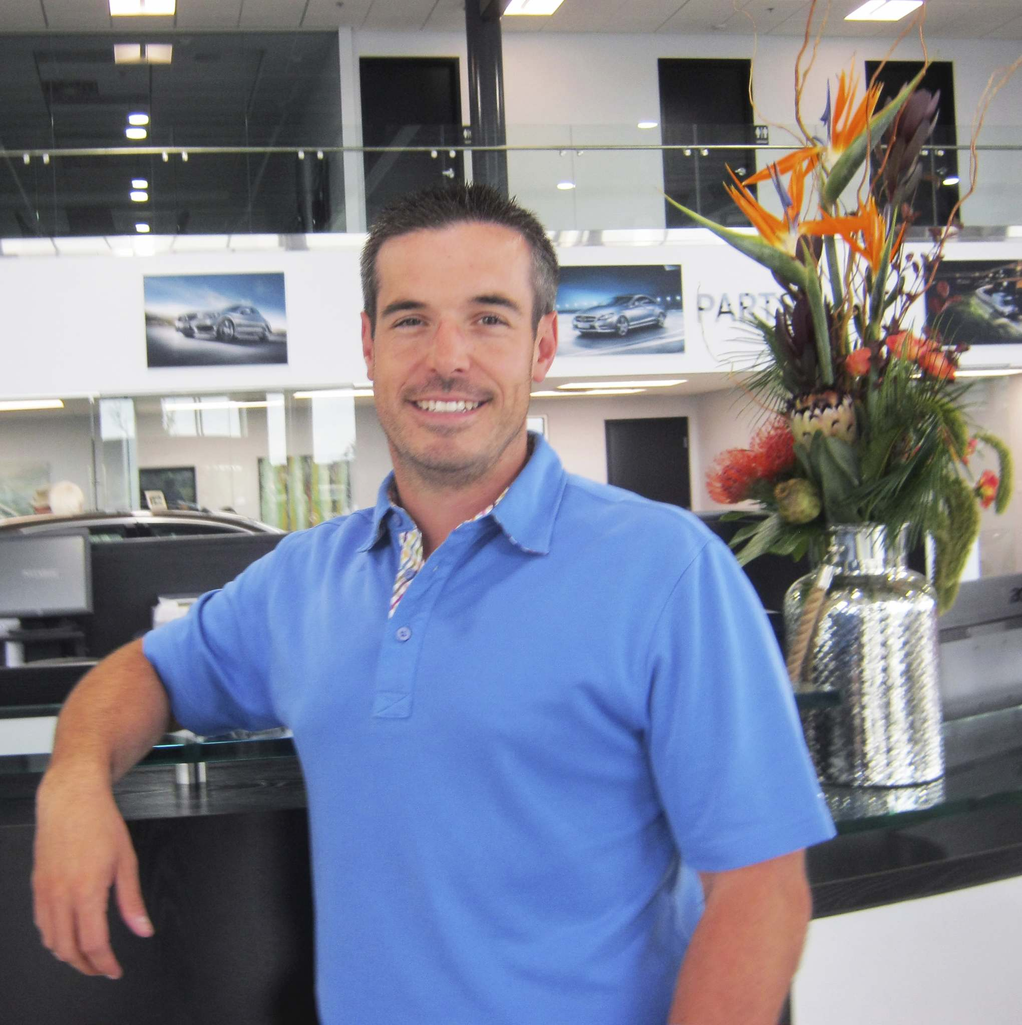 Myron Love / Winnipeg Free PressBrian Lowes, president of Mercedes-Benz Winnipeg, is the Canadian Automobile Dealers Association 2018 retailer laureate for his outstanding achievement within an individual dealership.